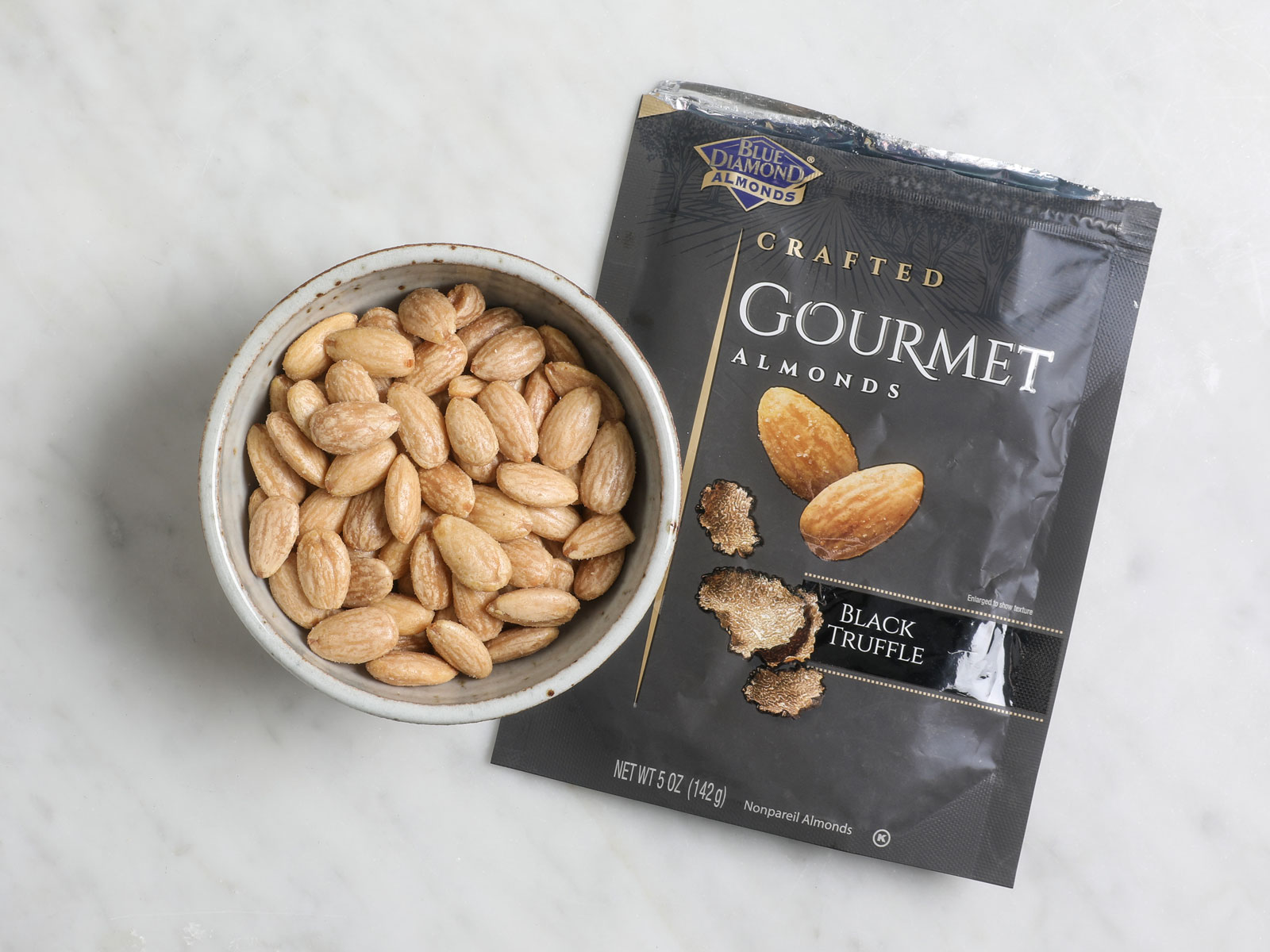 We tasted Blue Diamond Almonds' four new gourmet flavors