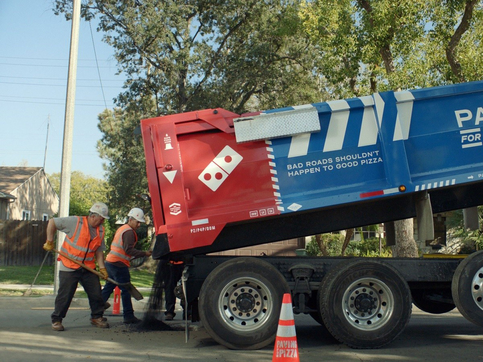 Domino's Pledges to Fix Potholes for a Better Pizza Experience