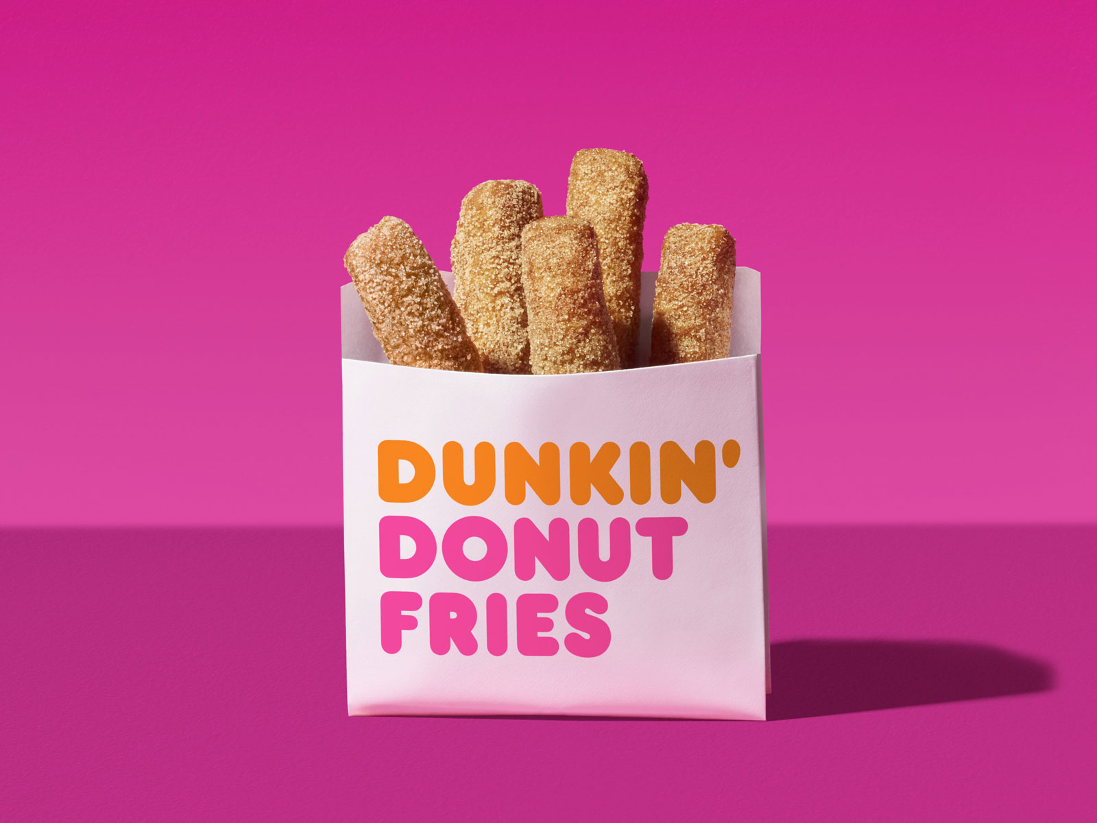 Dunkin' Donuts Releases Donut Fries Nationwide