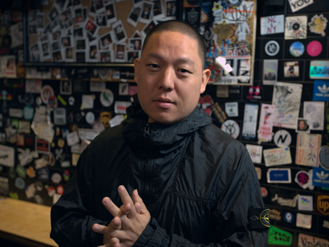 Eddie Huang Credits His Mother with Teaching Him How to Cook
