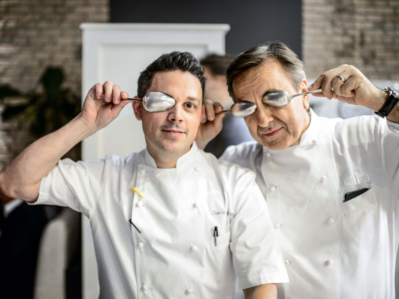 Gavin Kaysen and Daniel Boulud