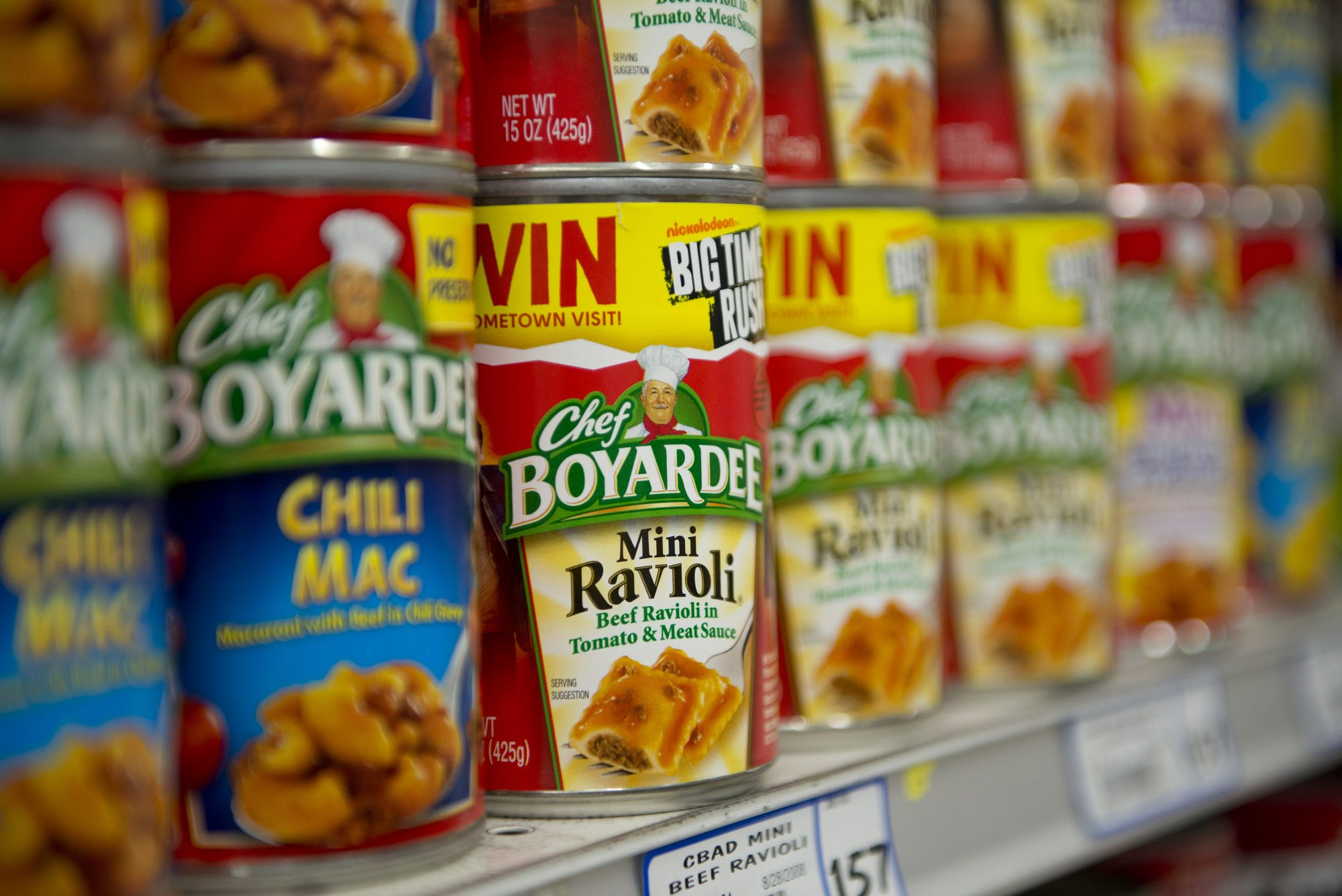 Chef Boyardee and Birds Eye Are Getting Together in a $8.1 Billion Merger Between Conagra and Pinnacle Foods