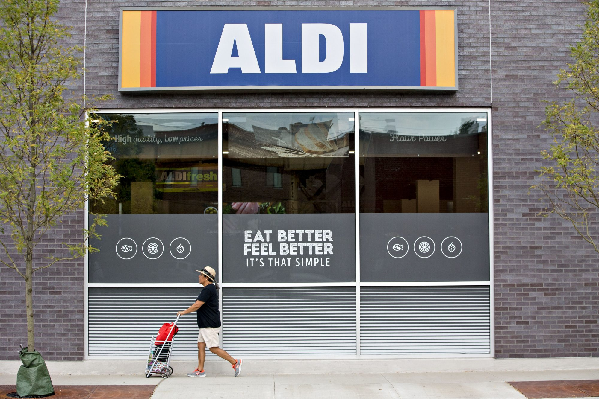 Inside An Aldi Stores Ltd. Location As Company Plans U.S. Expansion