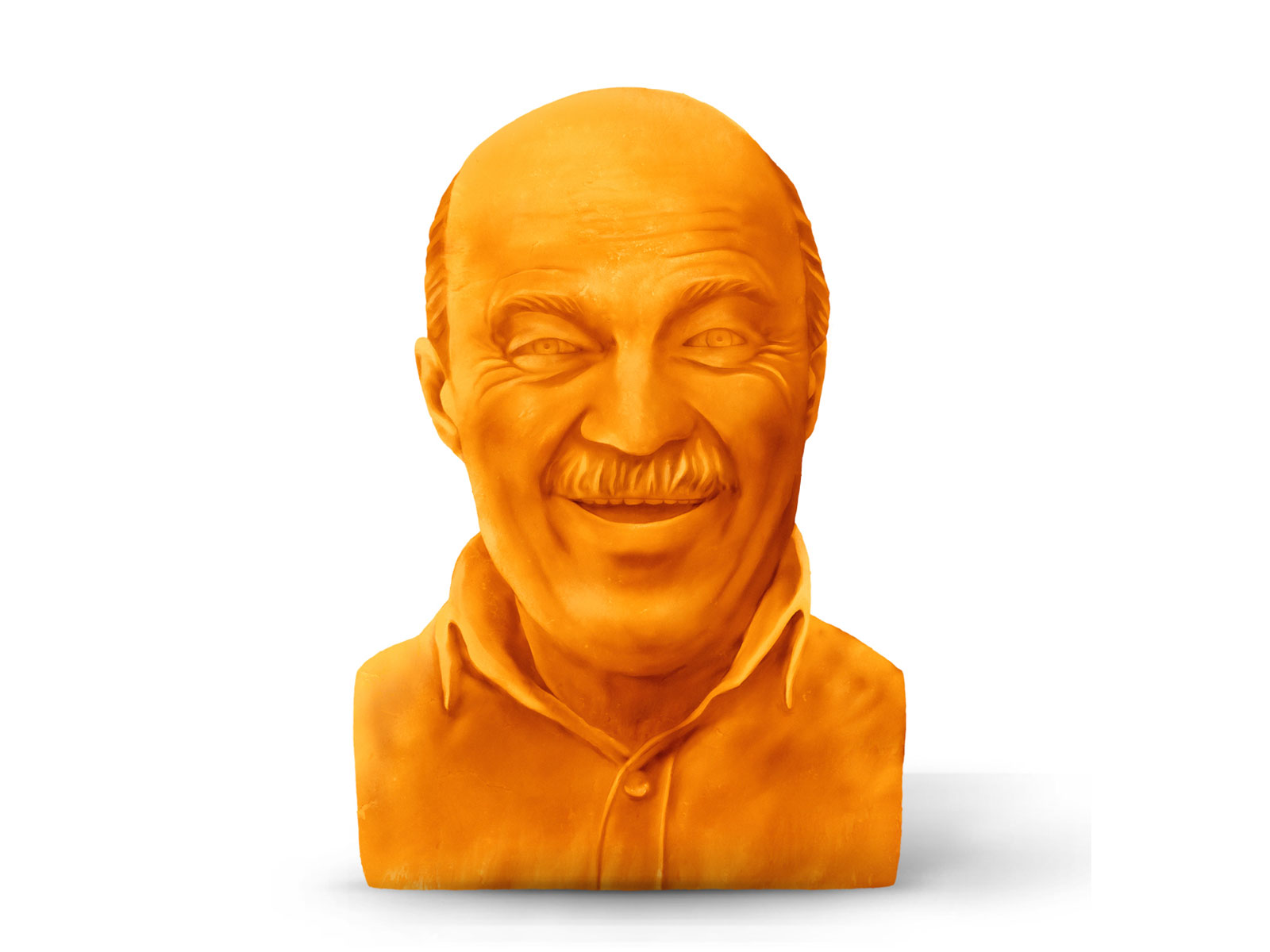 Get a Cheese Sculpture of Your Dad for a Great Cause This Father's Day