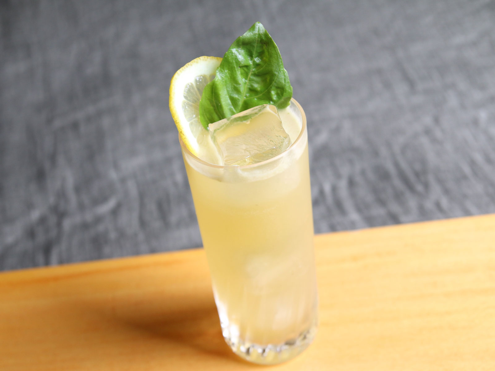 Lemon-Basil Buck