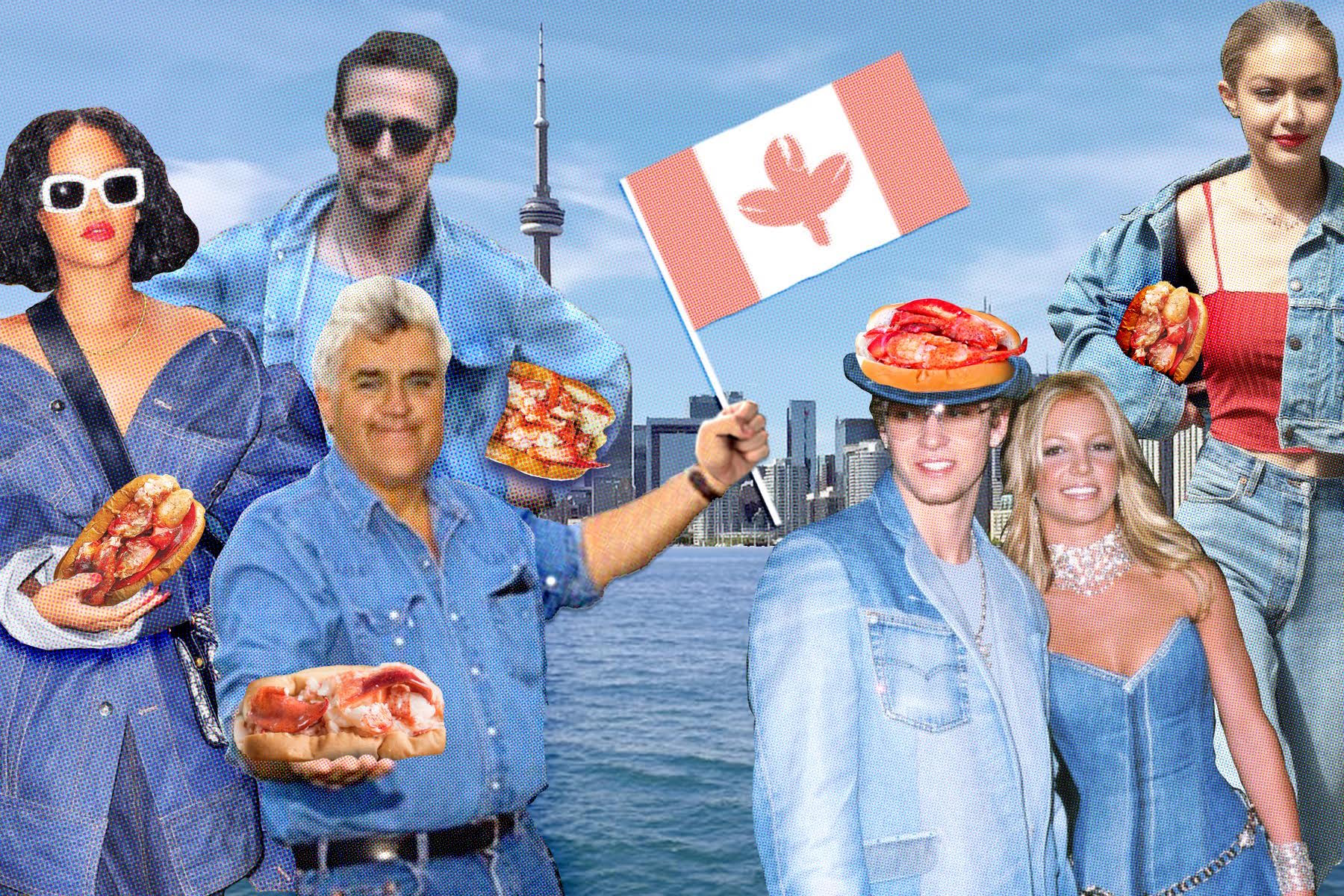 Get a Free Lobster Roll for Donning a 'Canadian Tuxedo' This Friday