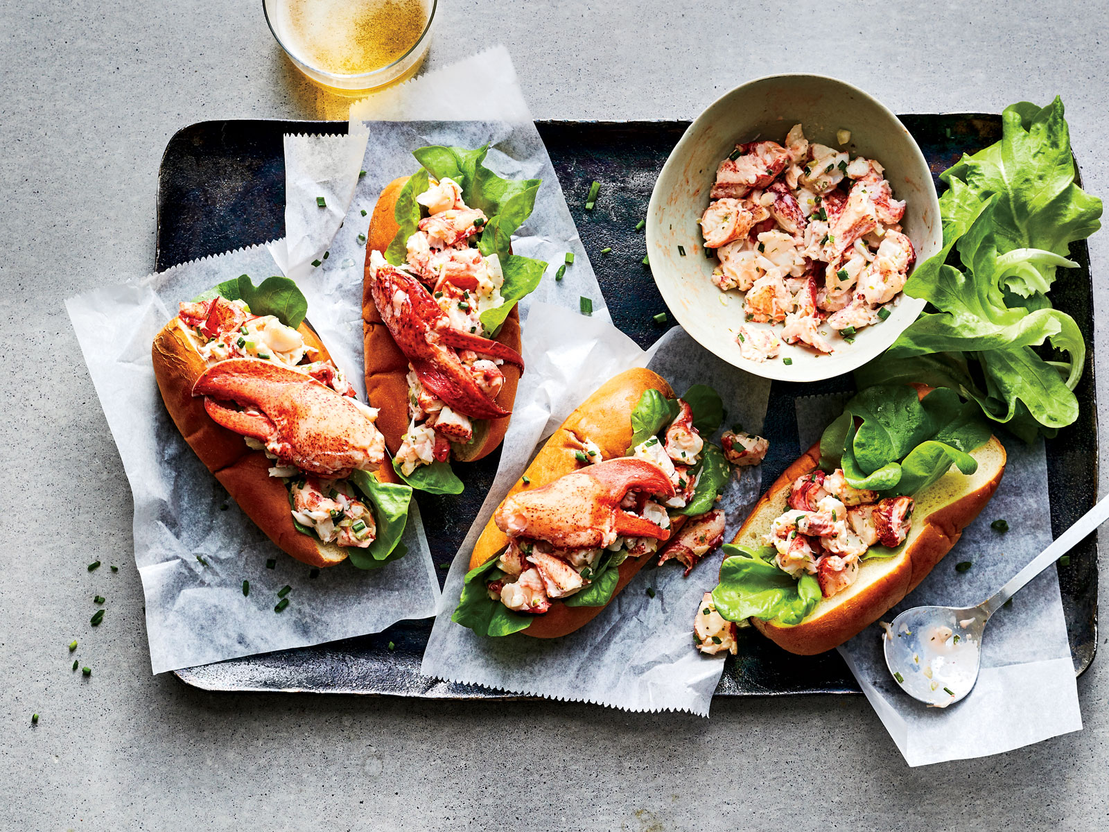 Maine-Style Lobster Rolls