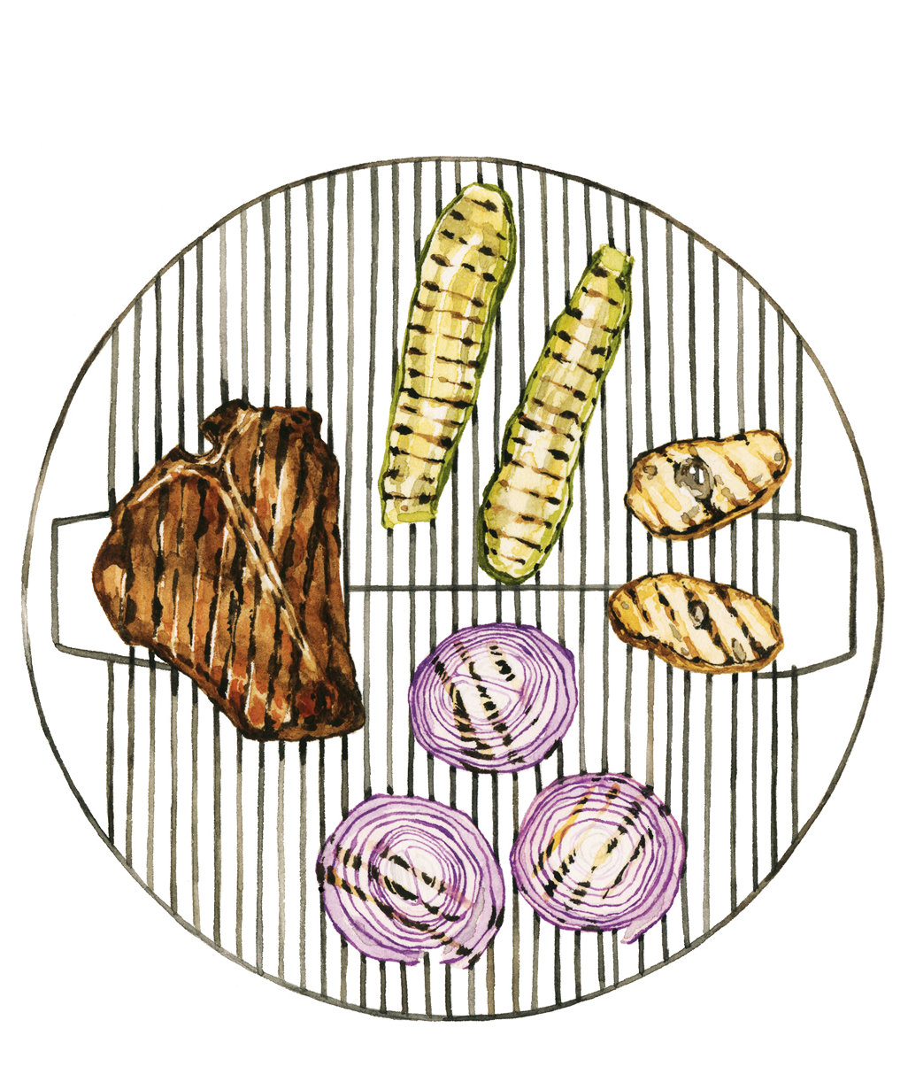 How To Set Up Your Grill For Multitasking