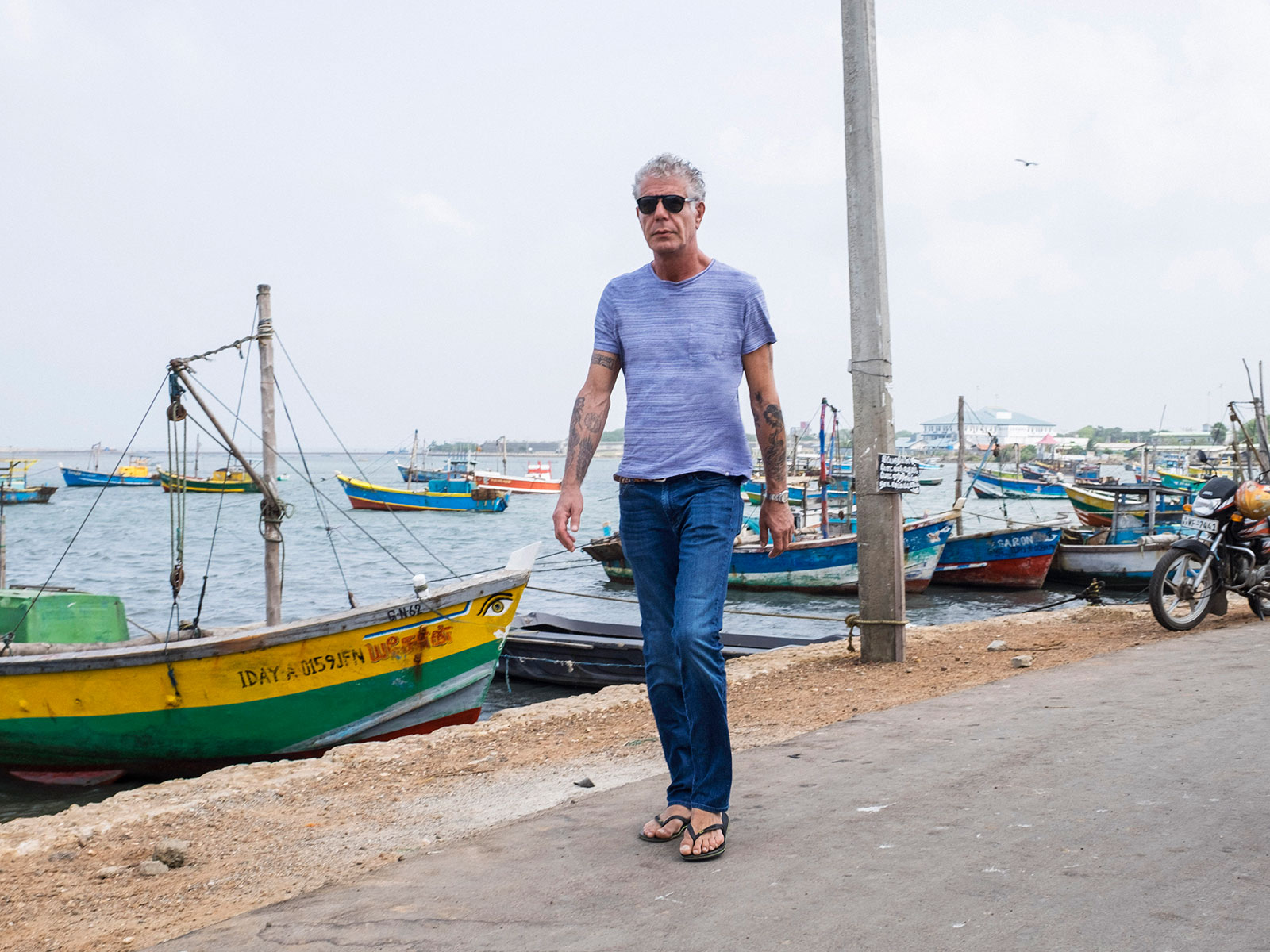 Anthony Bourdain in Sri Lanka