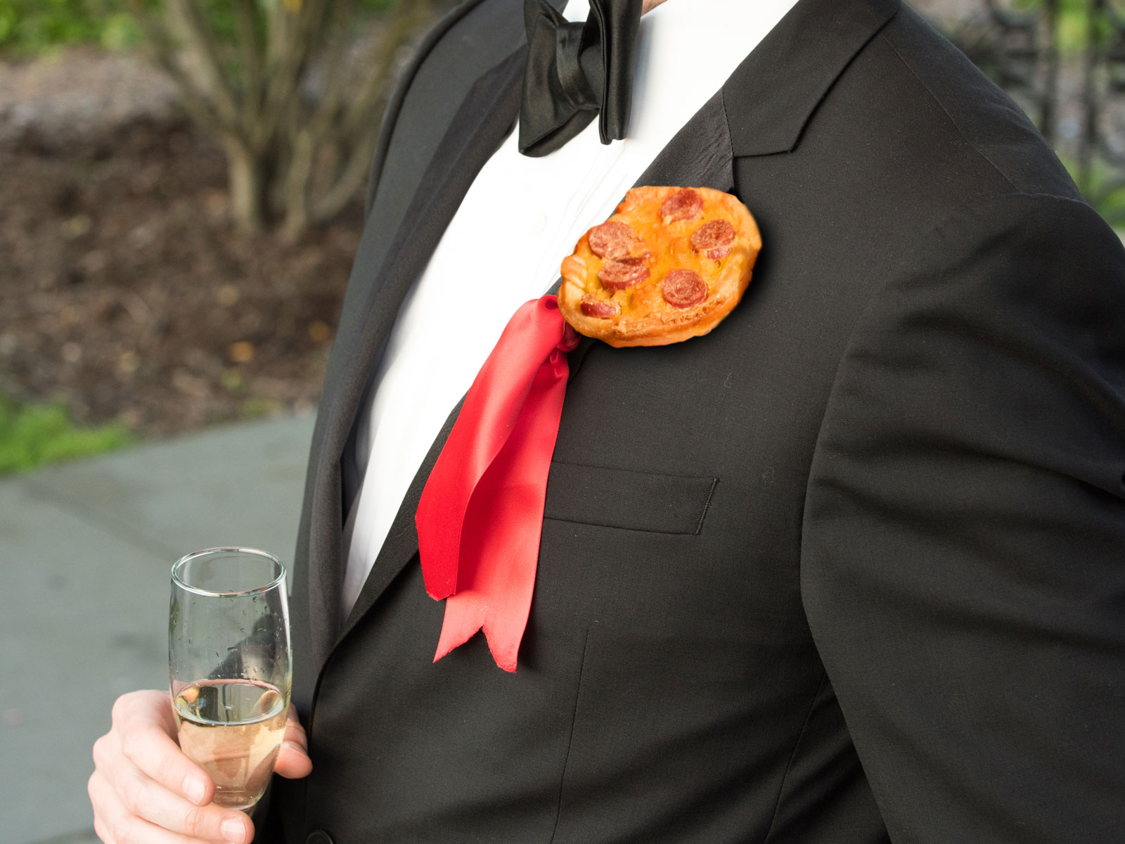 Pizza Boutonniere