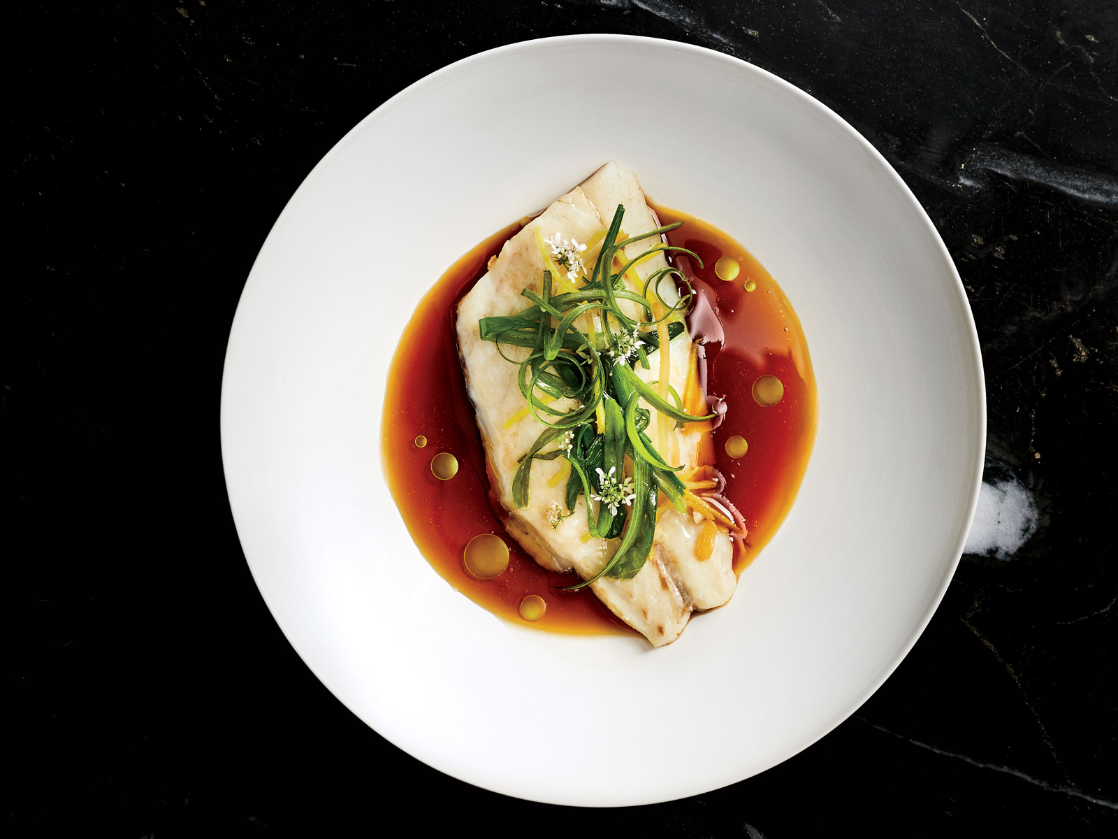 Steamed Fish with 