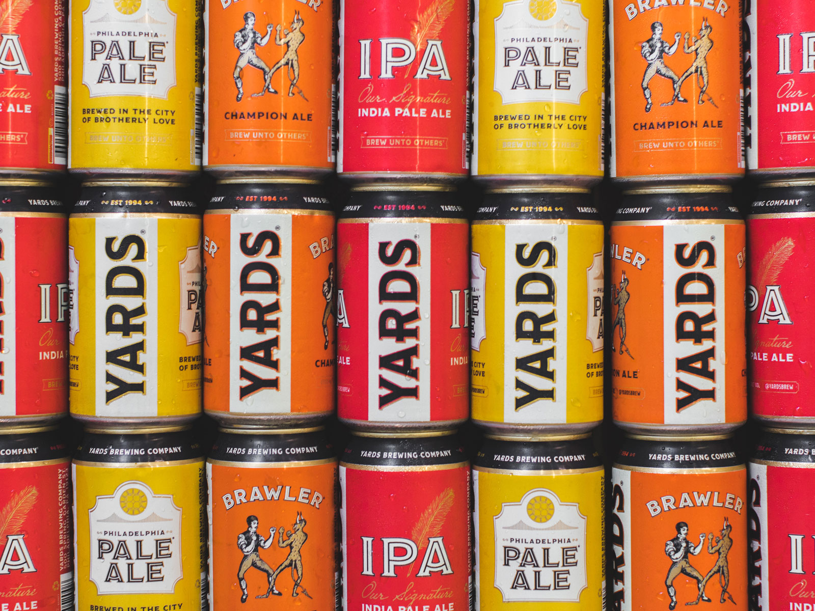 Yards Brewing Company Cans