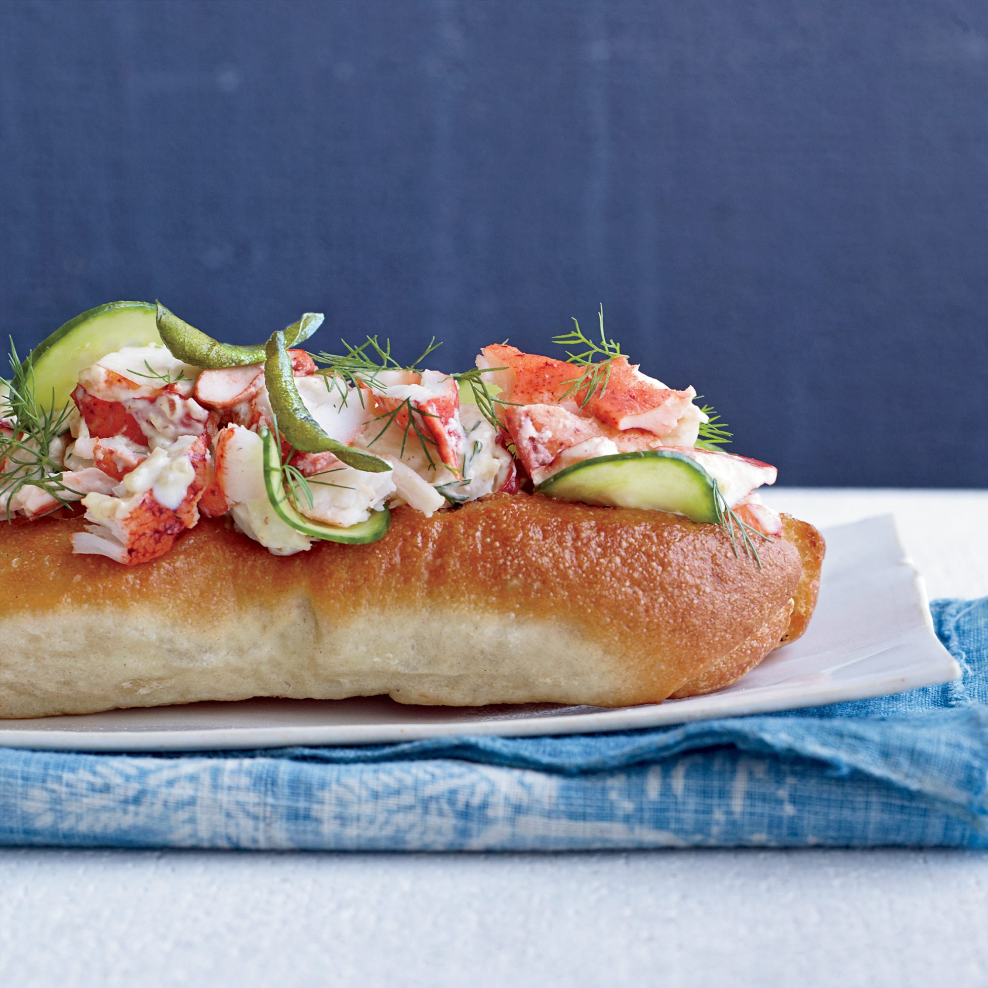 Summer Party Food: Curry Lobster Rolls