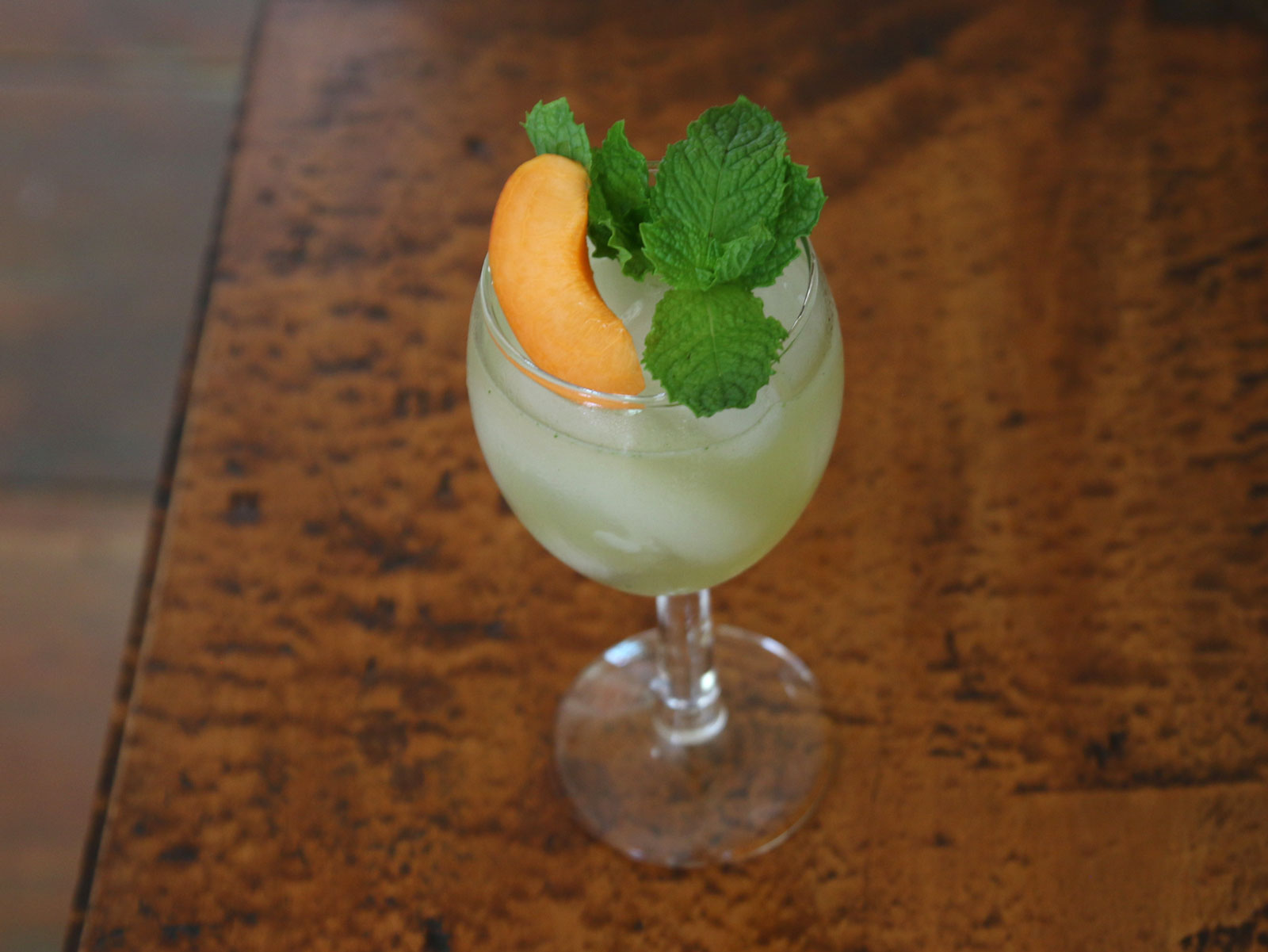 Apricot and Mint