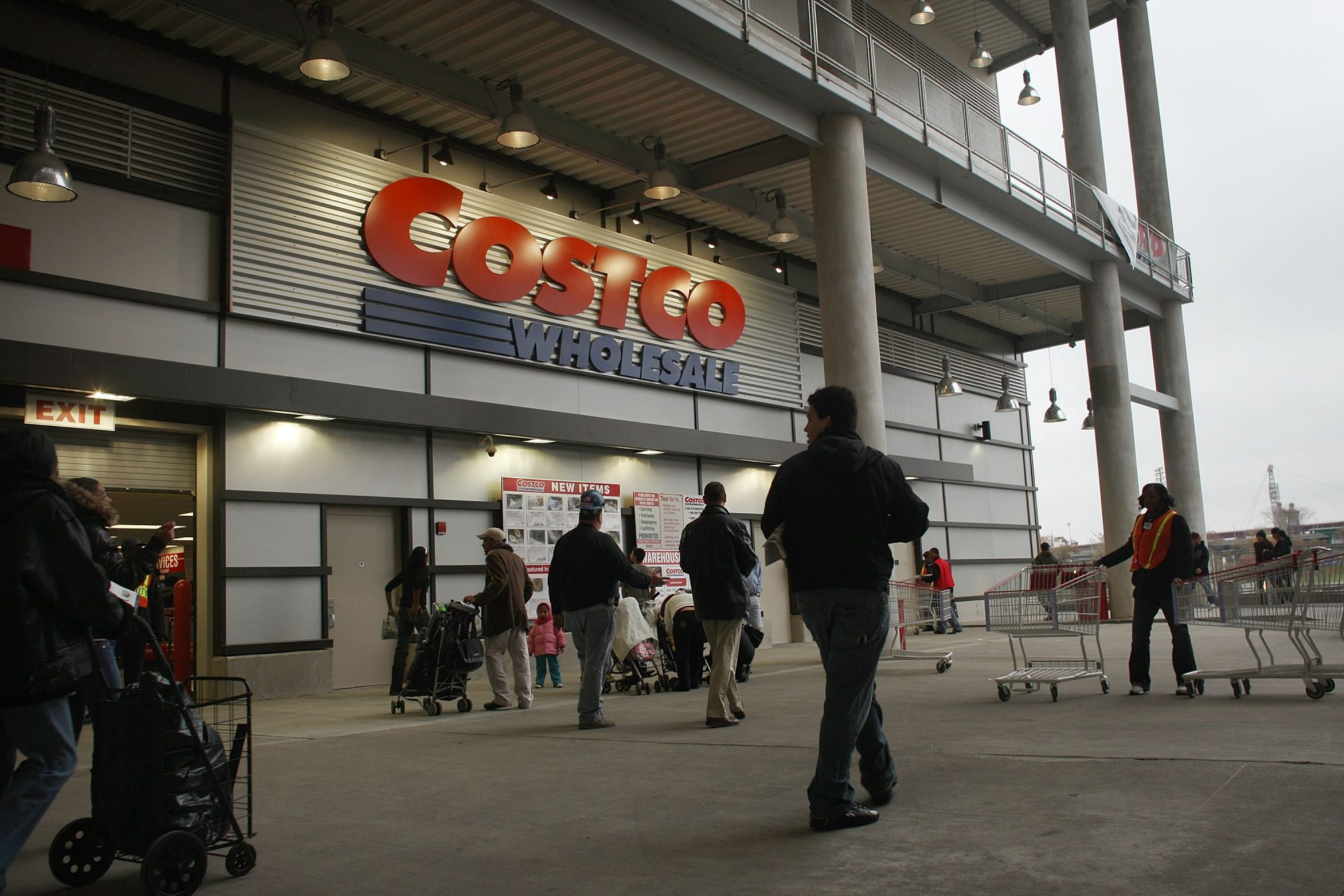 Costco Opens First Store In Manhattan