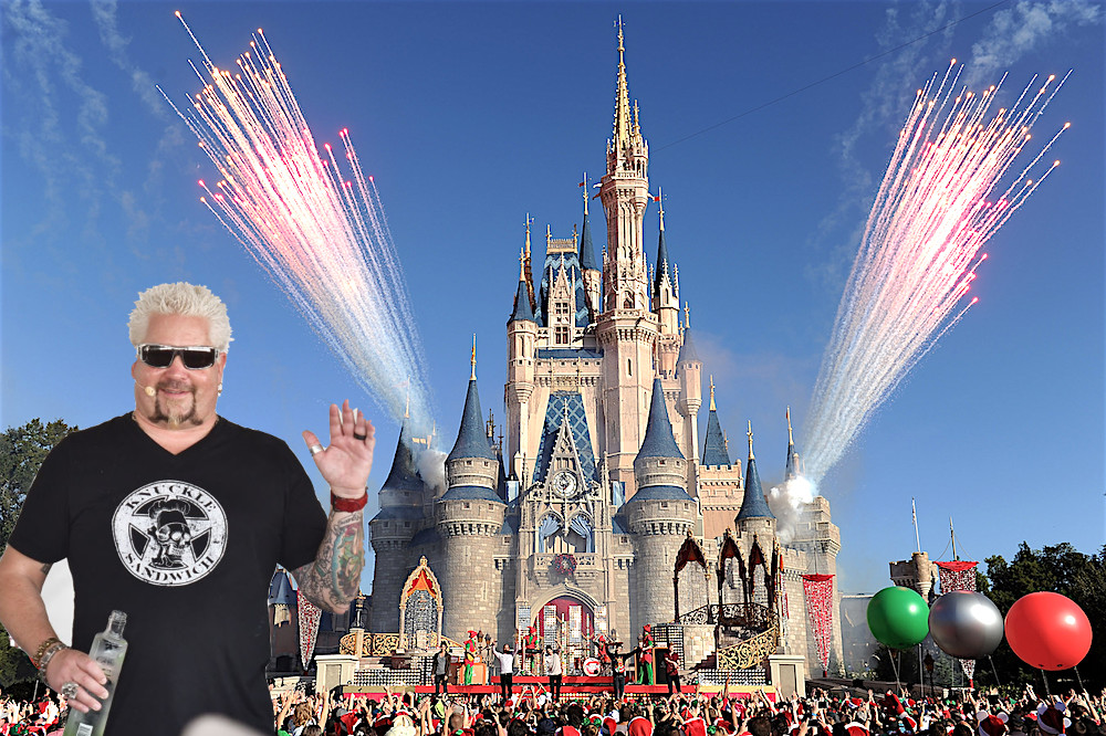 Guy Fieri Will Open a Restaurant at Disney World