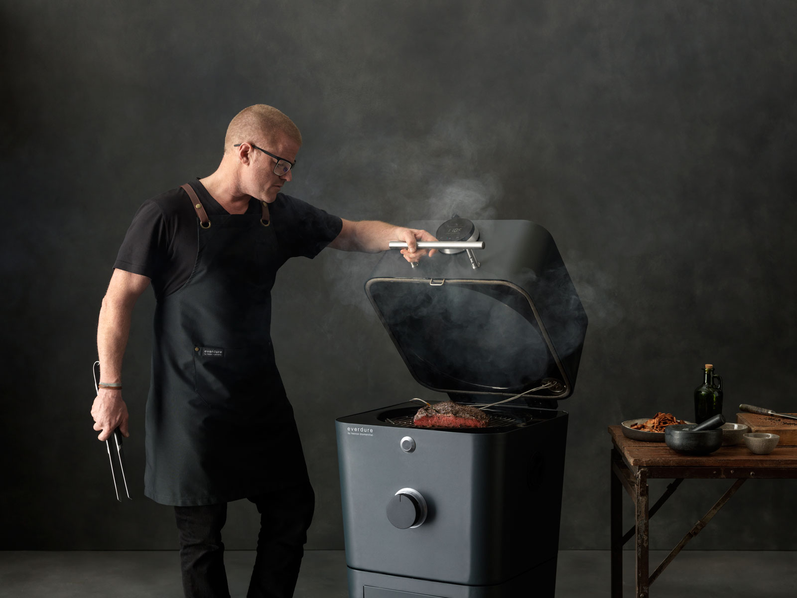Heston Blumenthal Just Unveiled a Really Fancy New Grill