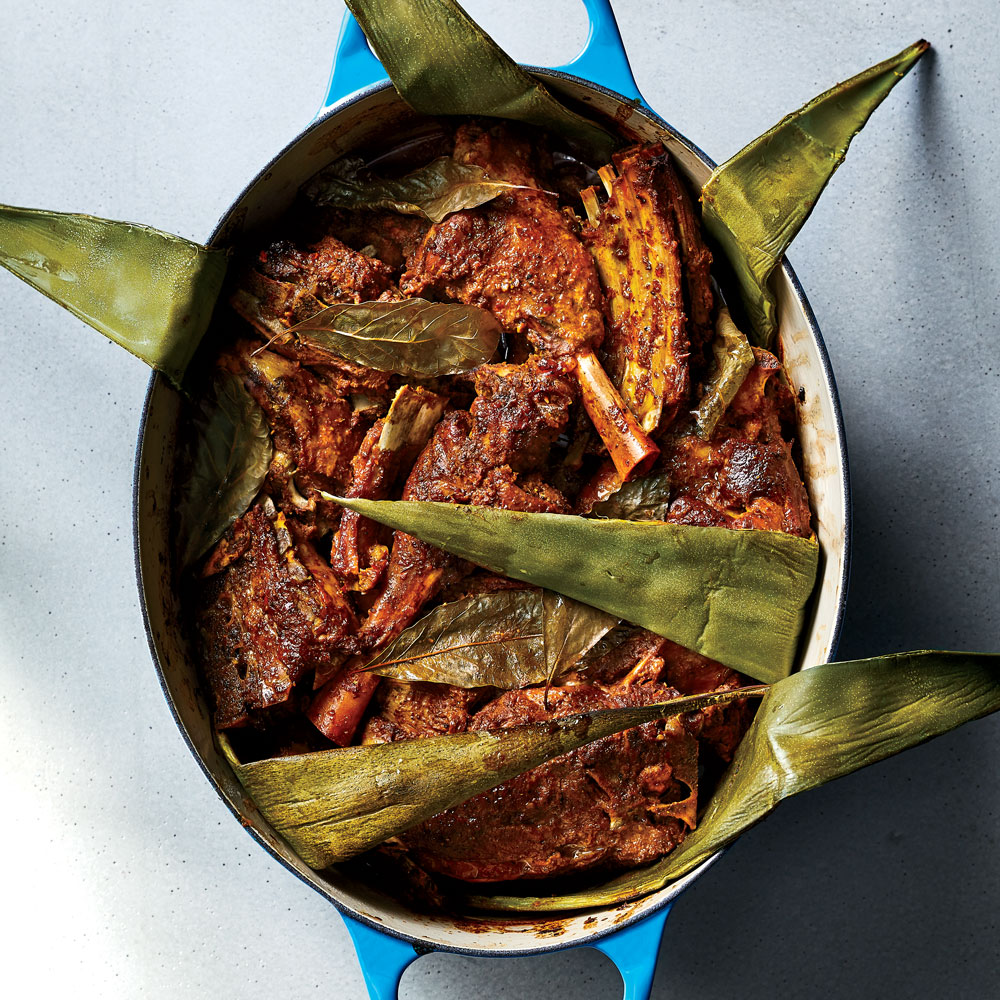 Lamb Barbacoa with Masala Adobo