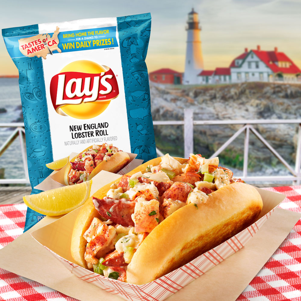 New England Lobster Roll Lay's