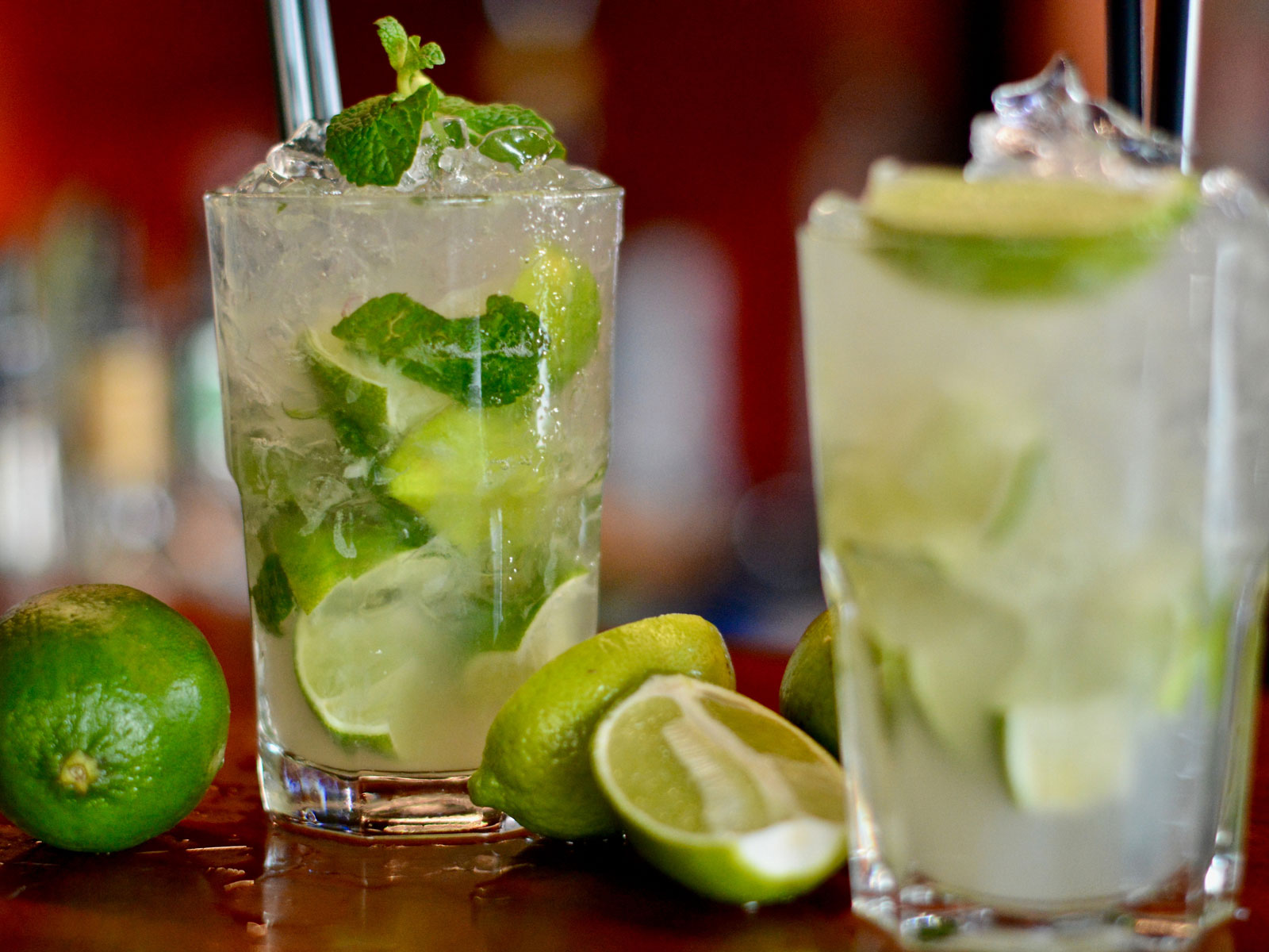 Stop Muddling Your Mint When You're Making Mojitos