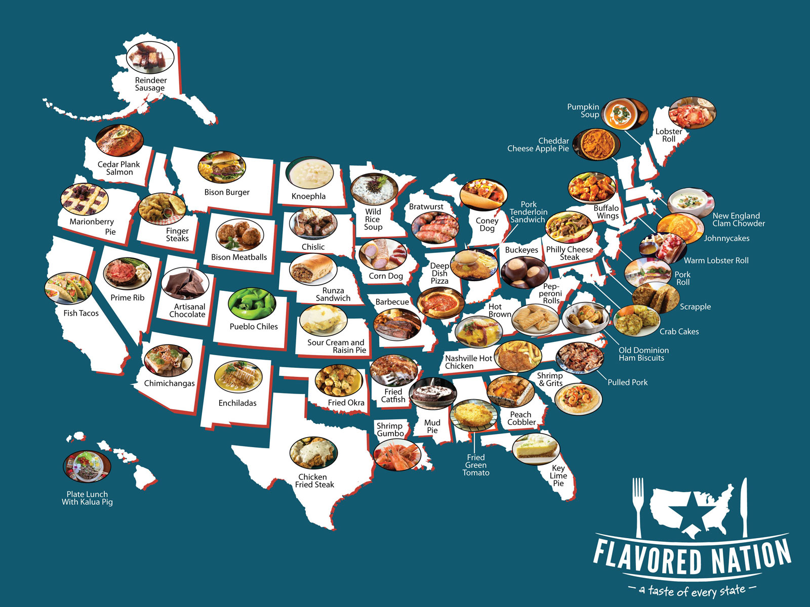 This Festival Features Iconic Foods From All 50 States