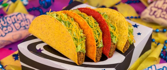 National Taco Day at Taco Bell
