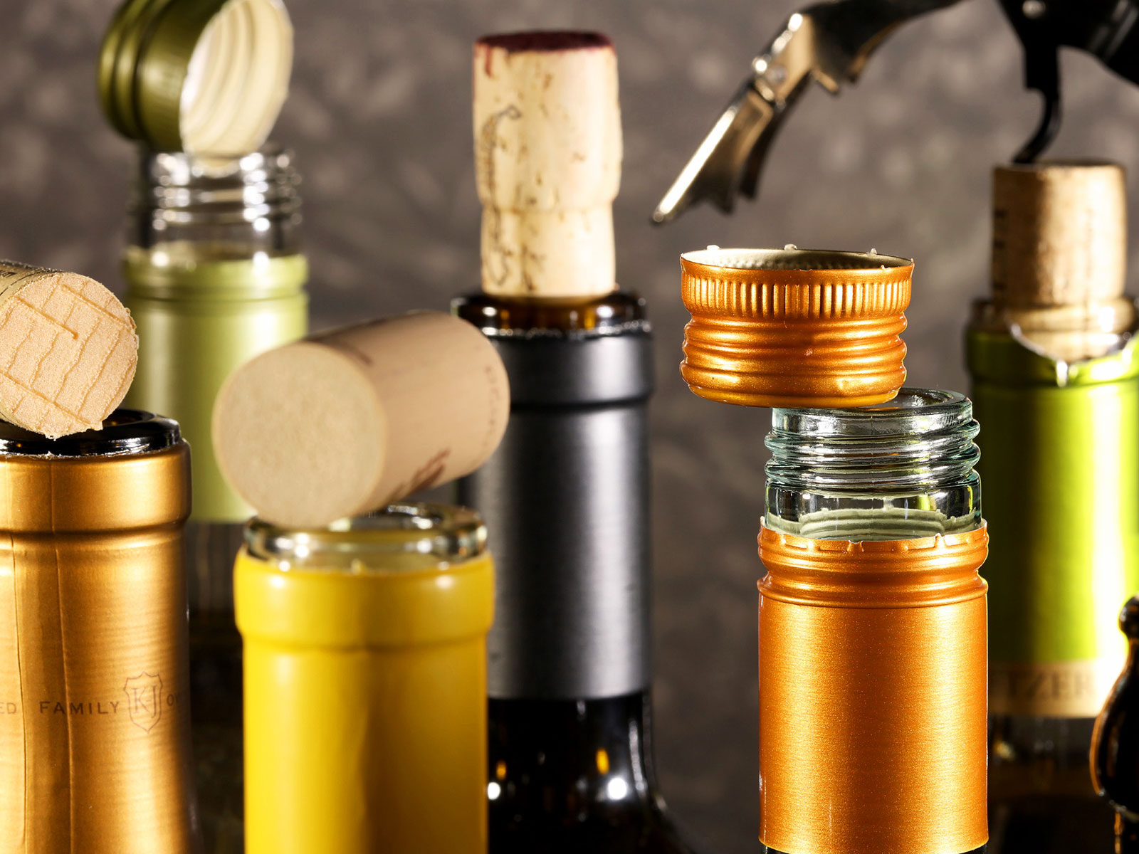 Are Screw Caps Better for Aging Wine Than Corks?