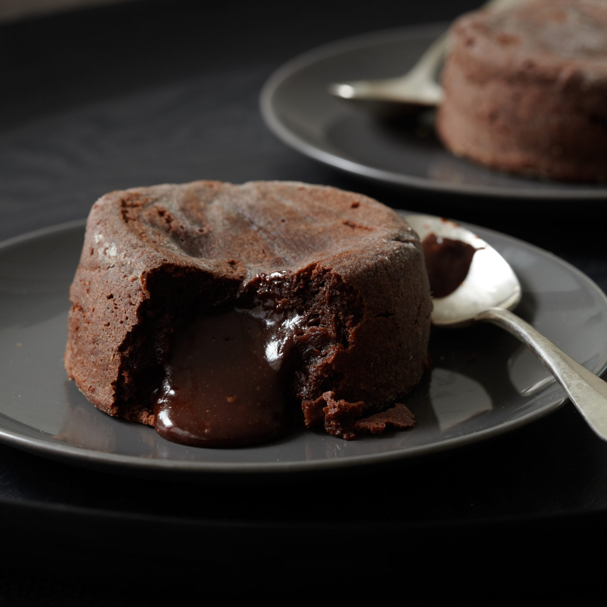 French Chocolate Fondant Cake