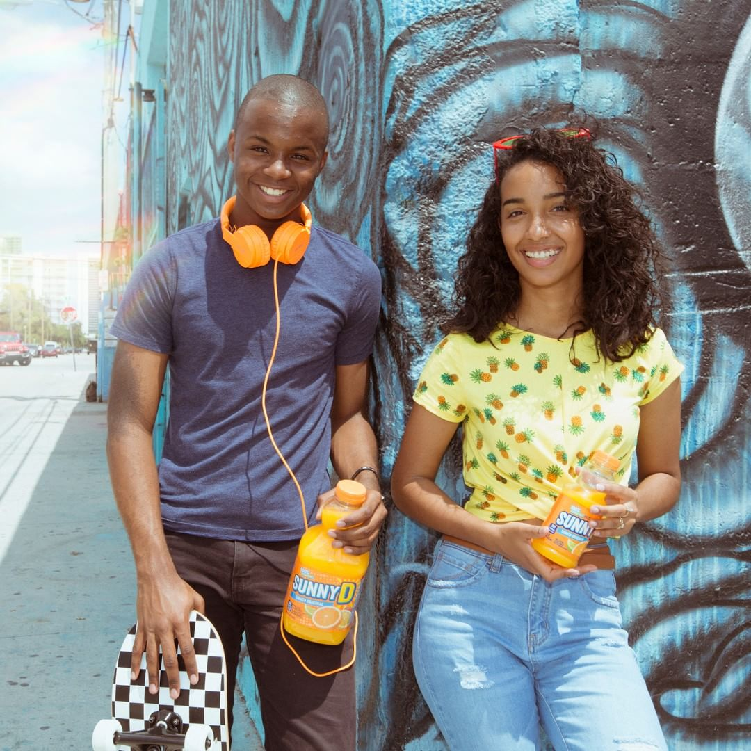 SunnyD Launches a New Ad Campaign Targeting Generation Z