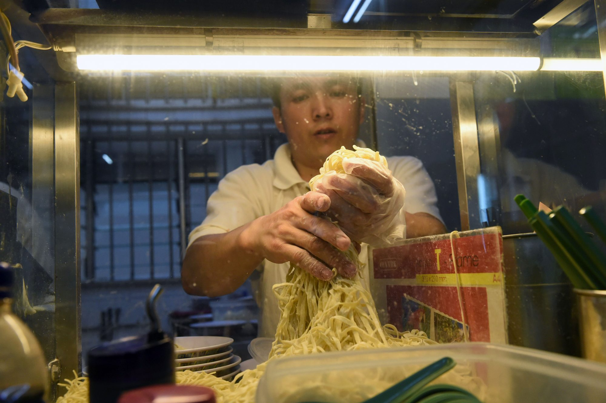 Singapore Hawker Stands with Michelin Stars