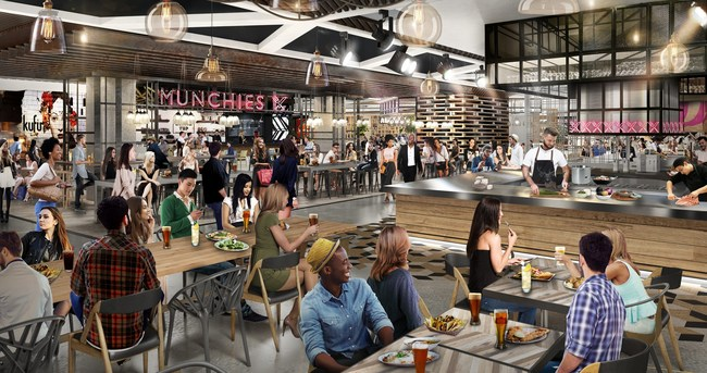 Inside the Food Court of the Most Hyped Mall in America