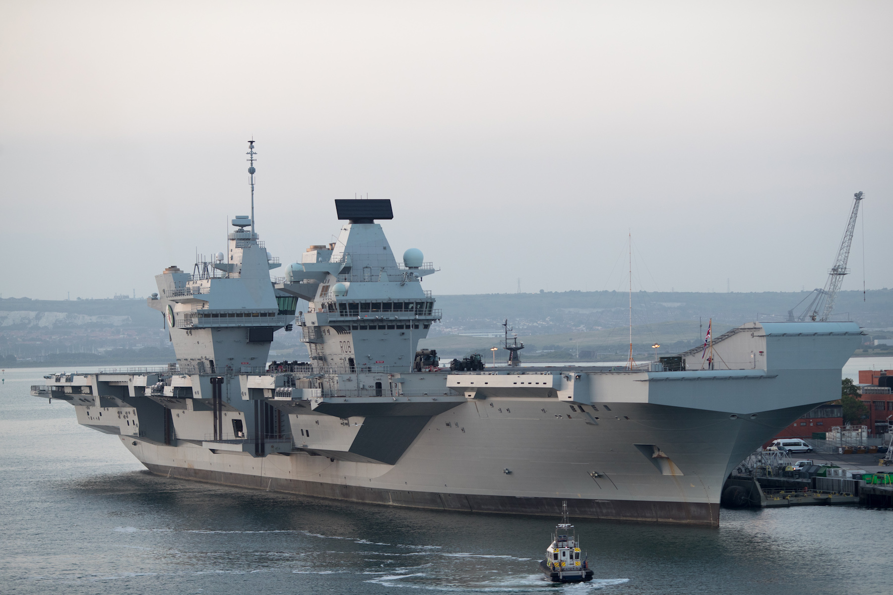 Britain's Newest Aircraft Carrier Has Its Own On-Board Pub, Of Course