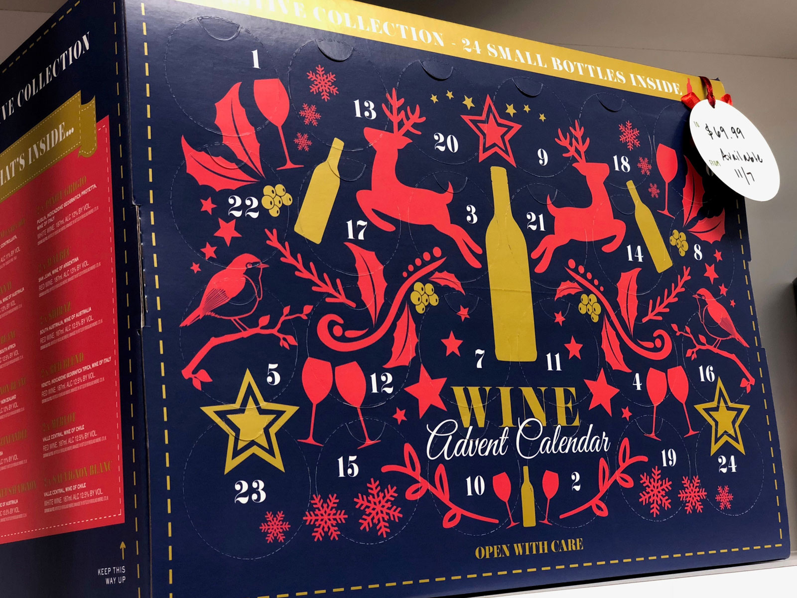 Aldi's Wine Advent Calendar Is Finally Coming to the U S  | Food & Wine