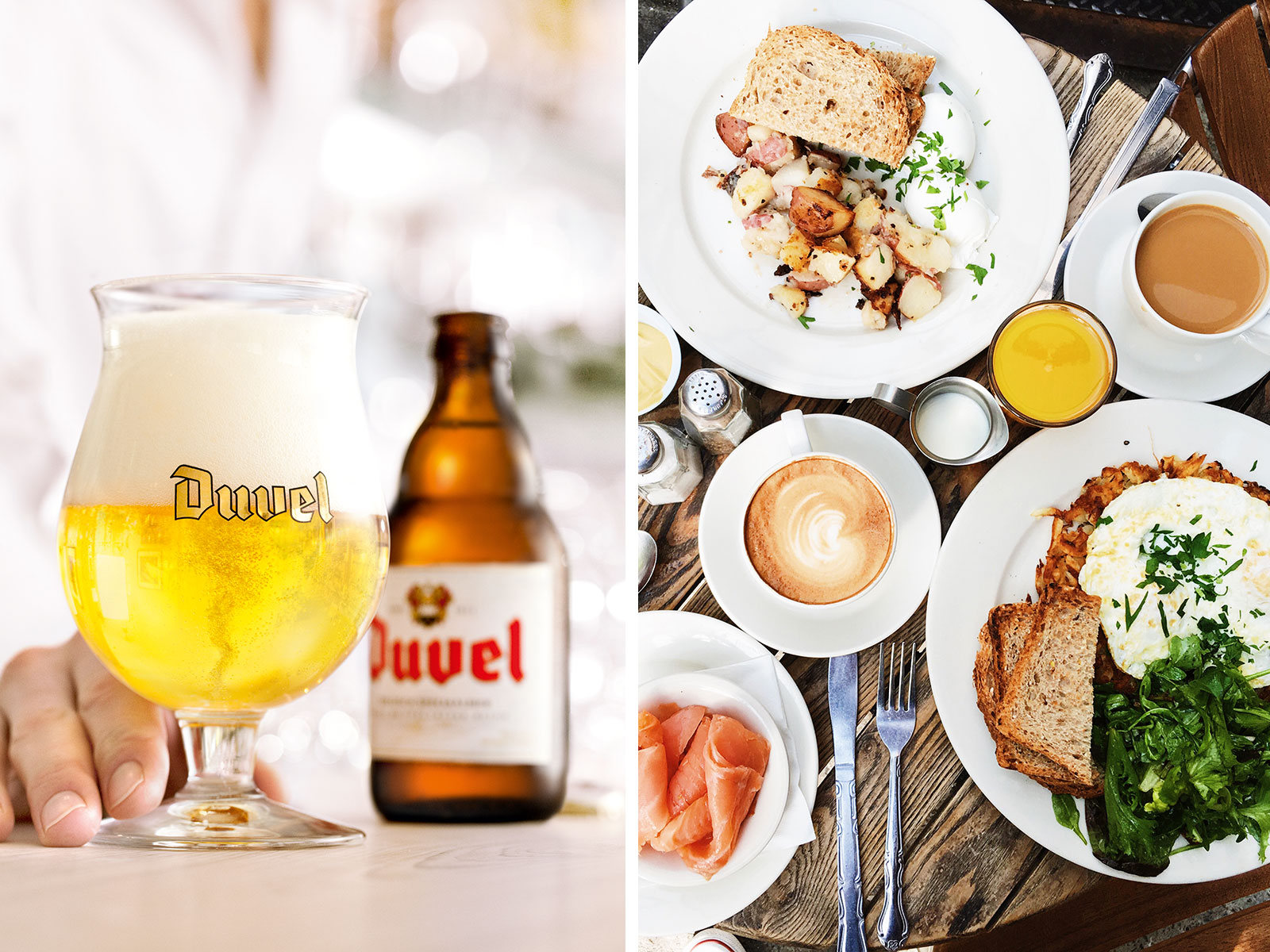 Duvel Beer Brunch Pairings