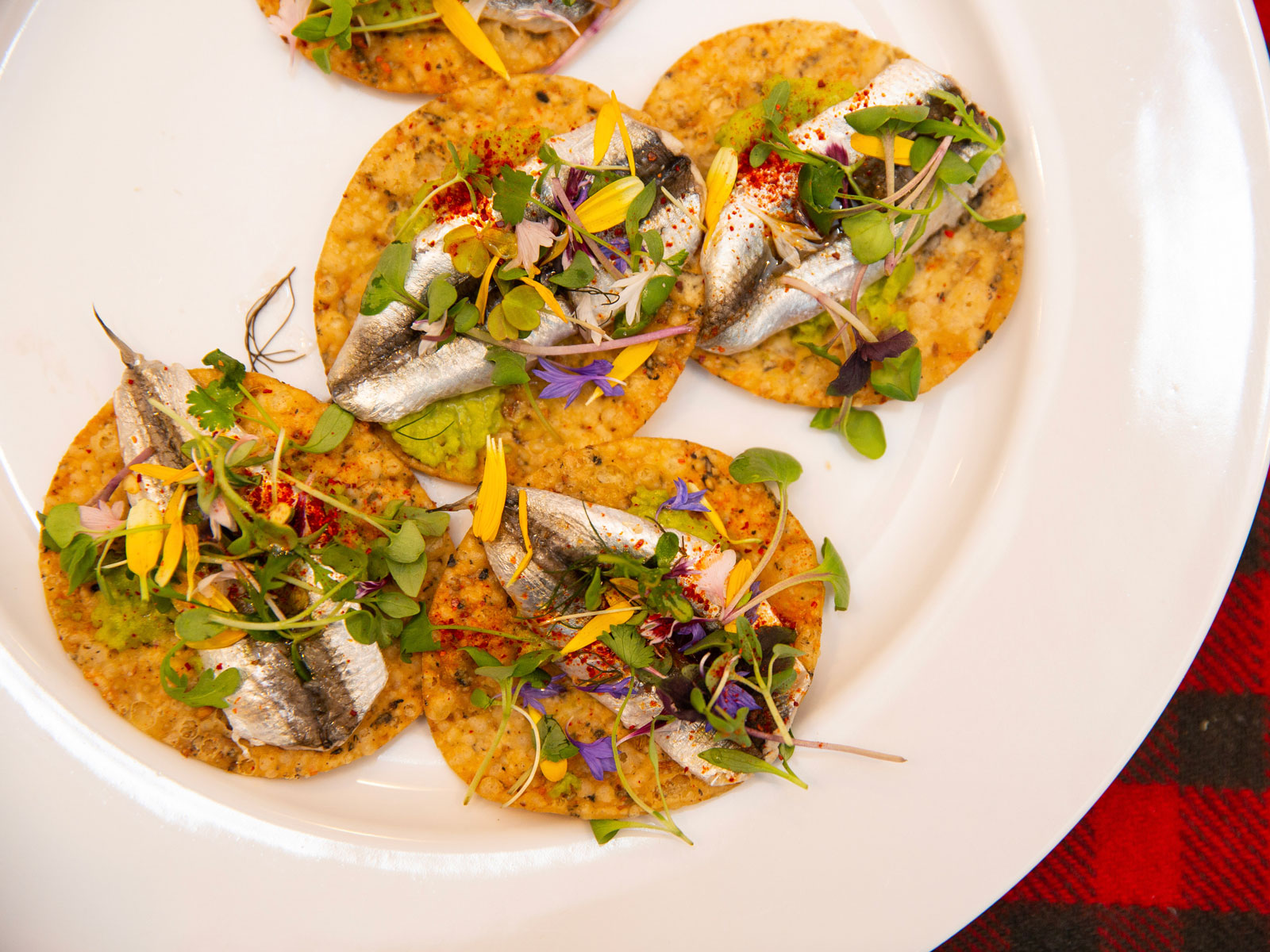 Anchovy Tacos