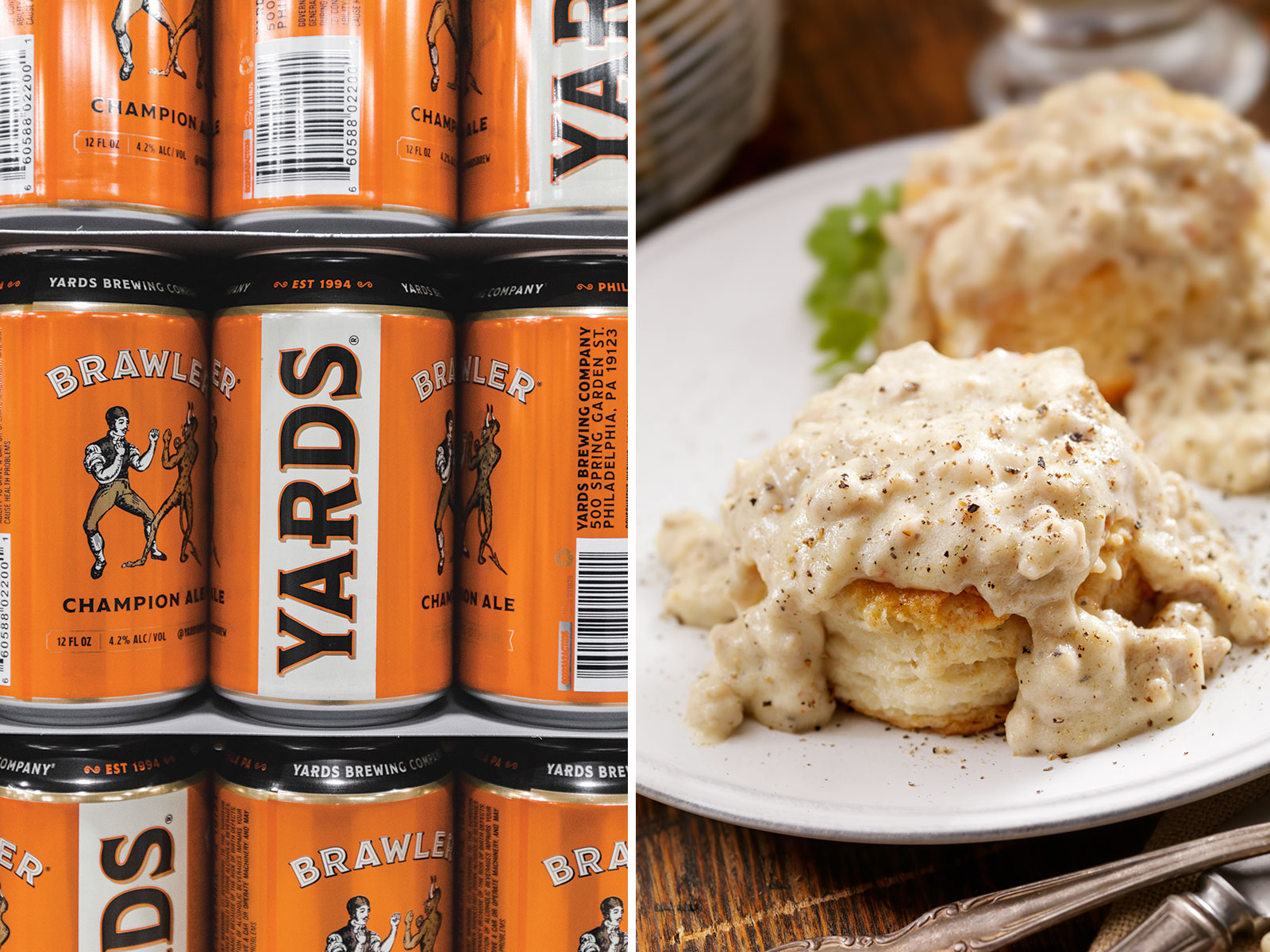 Biscuits and Gravy and Yards' Brawler
