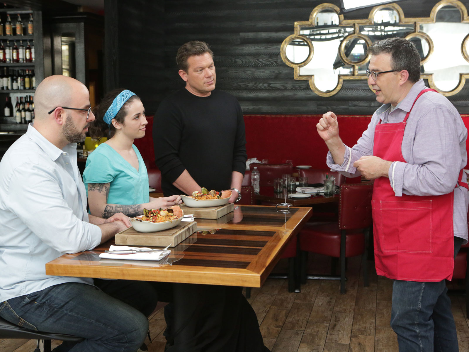 Food Network's 'Bite Club' Flips the Script on Culinary Competition