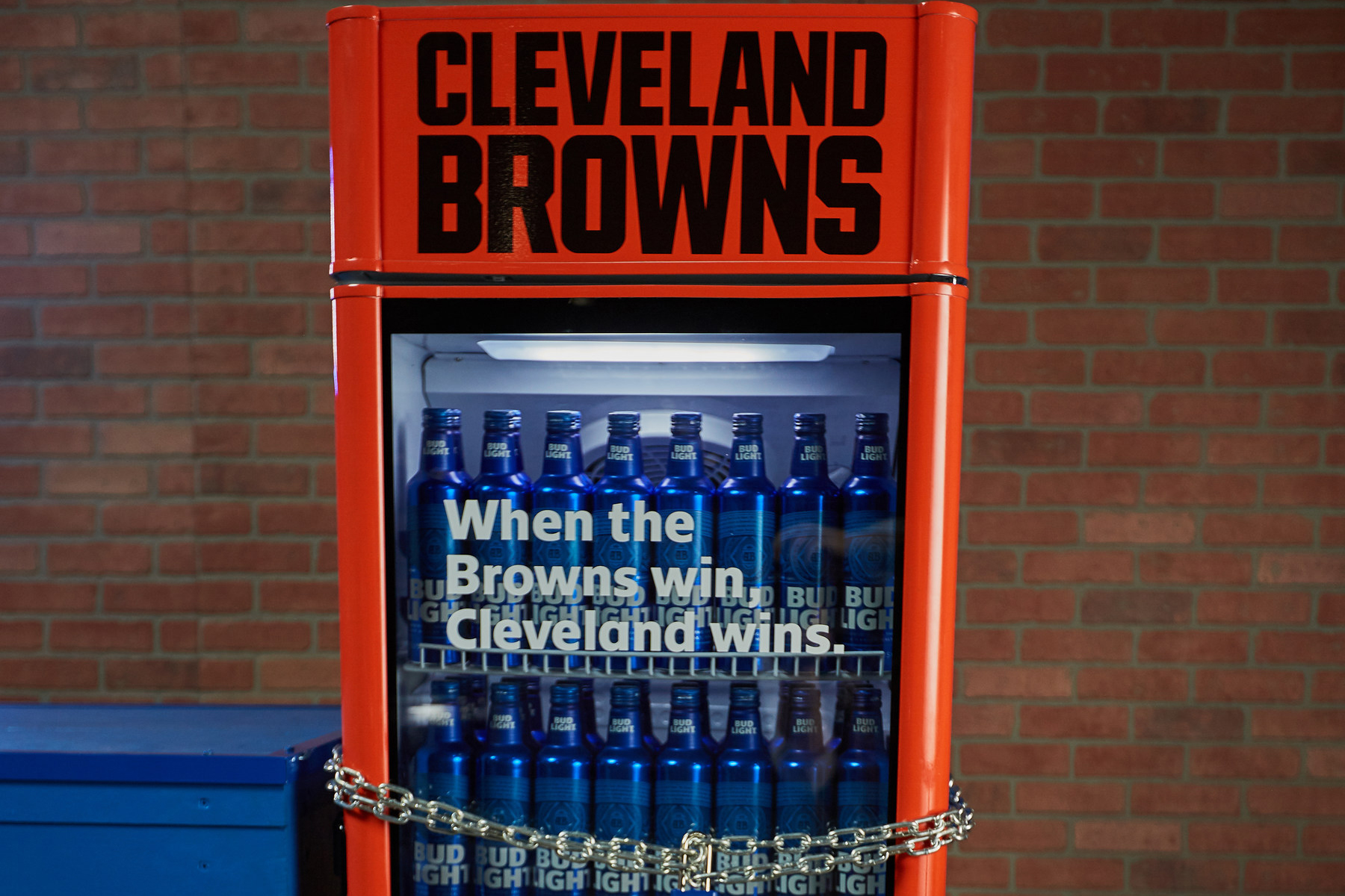 Bud Light Promises Browns Fans Free Beer if the Team Wins a Game This Year