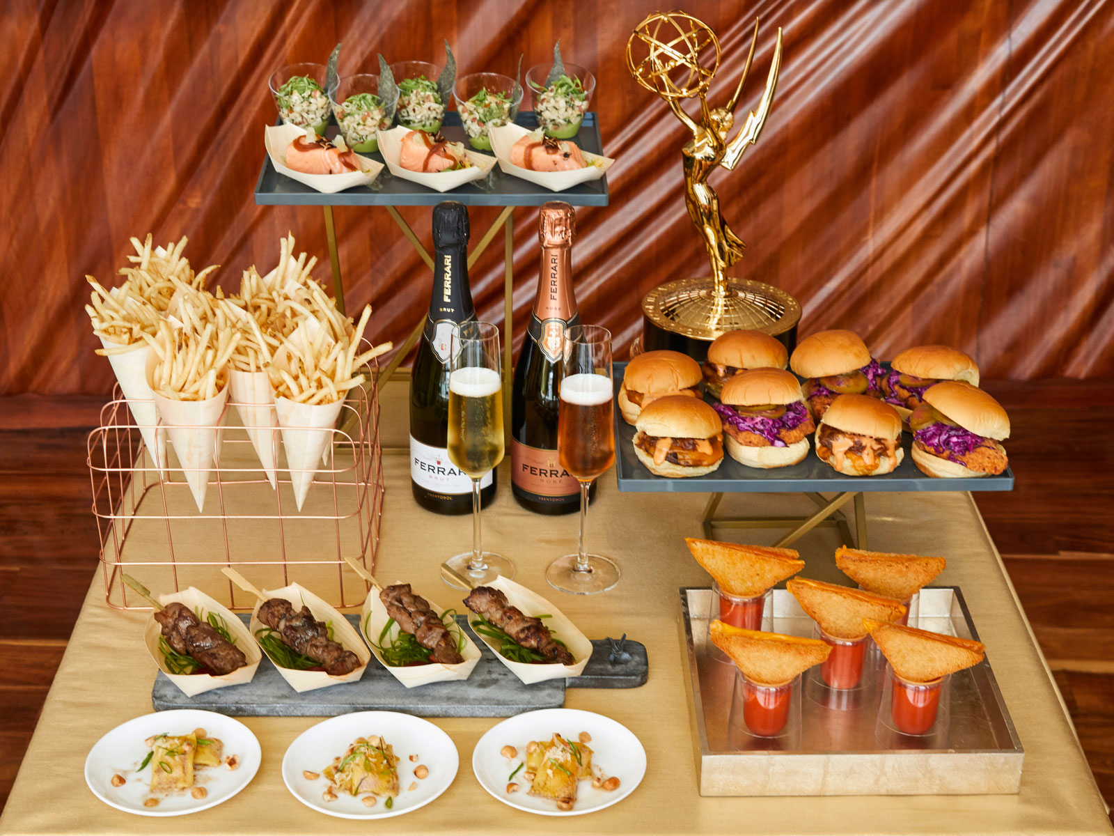 The Menu for the 2018 Emmys Is Here