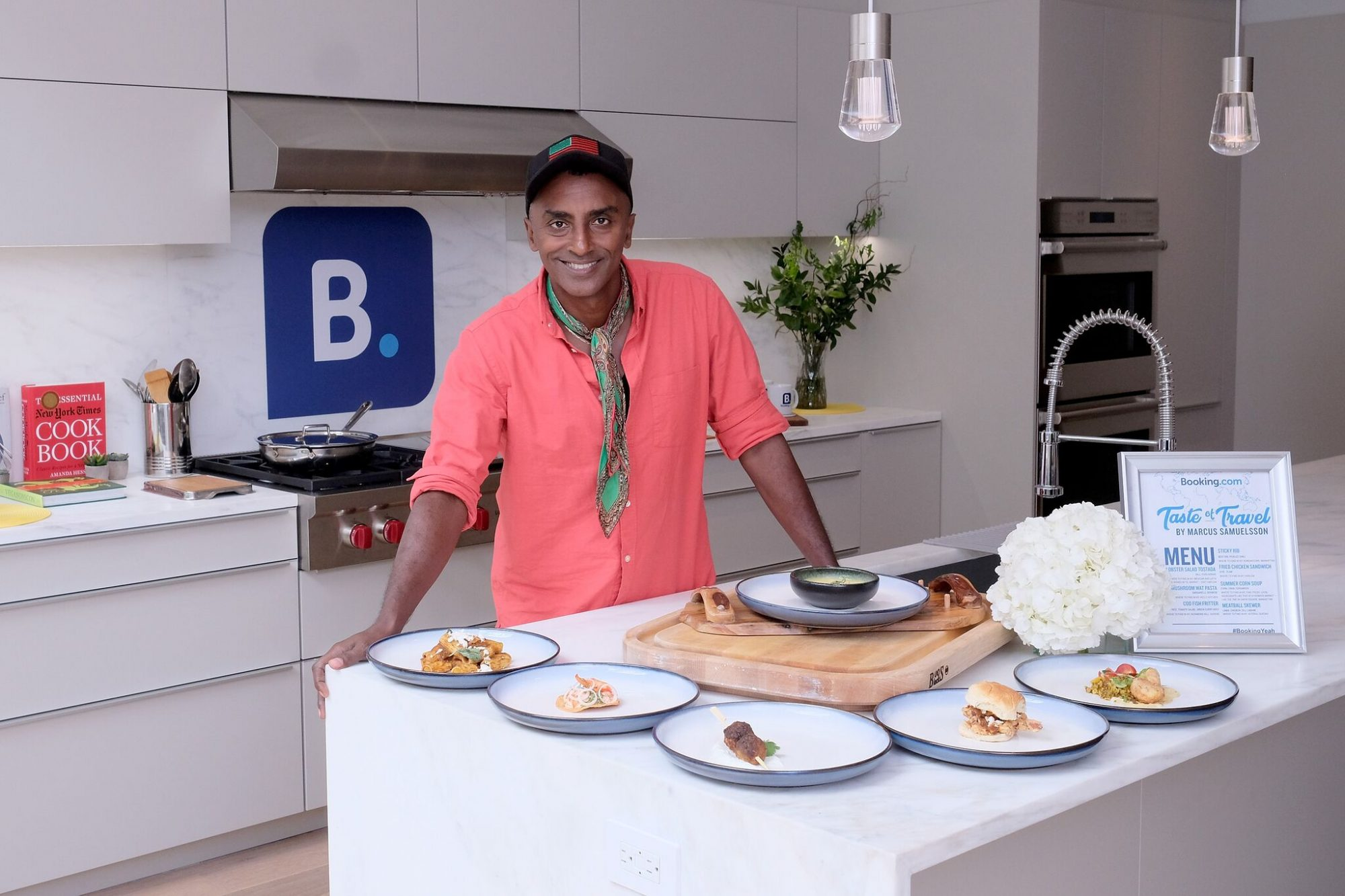 Marcus Samuelsson Says He Wasn't Paid for His First 3 Jobs. Now He's One of the Top Chefs in the Country