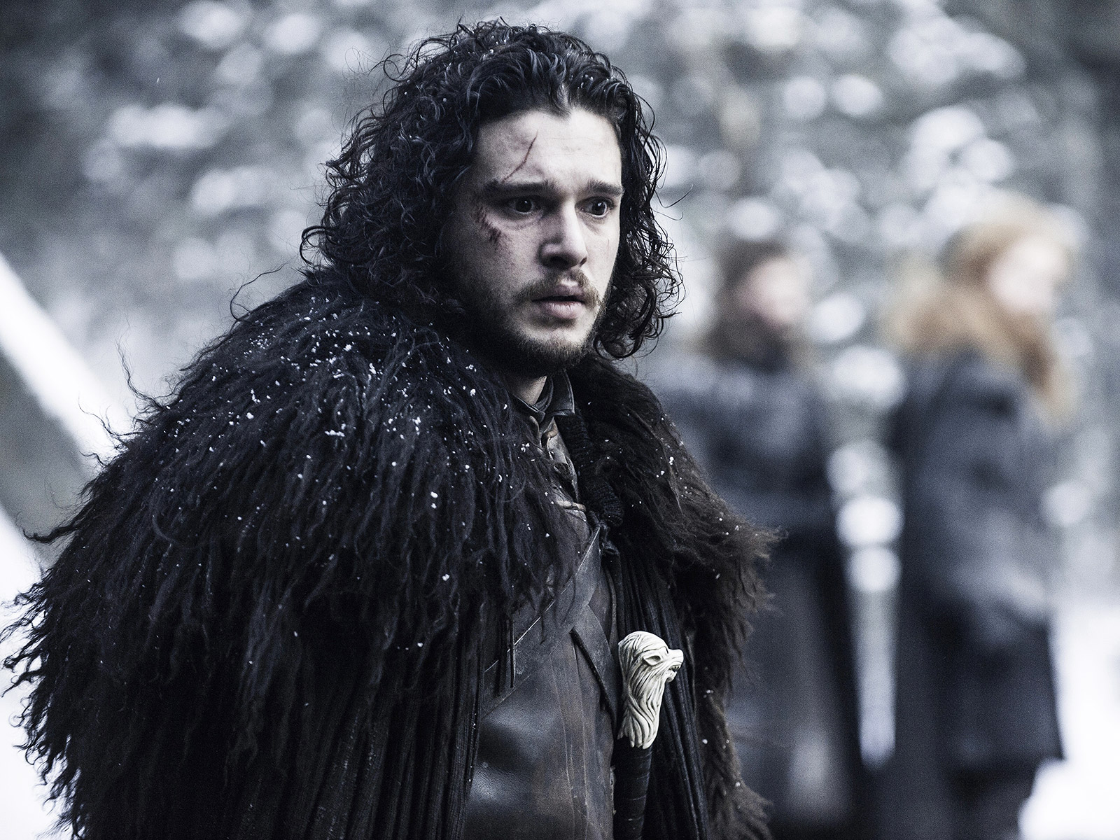 close up hbo jon snow