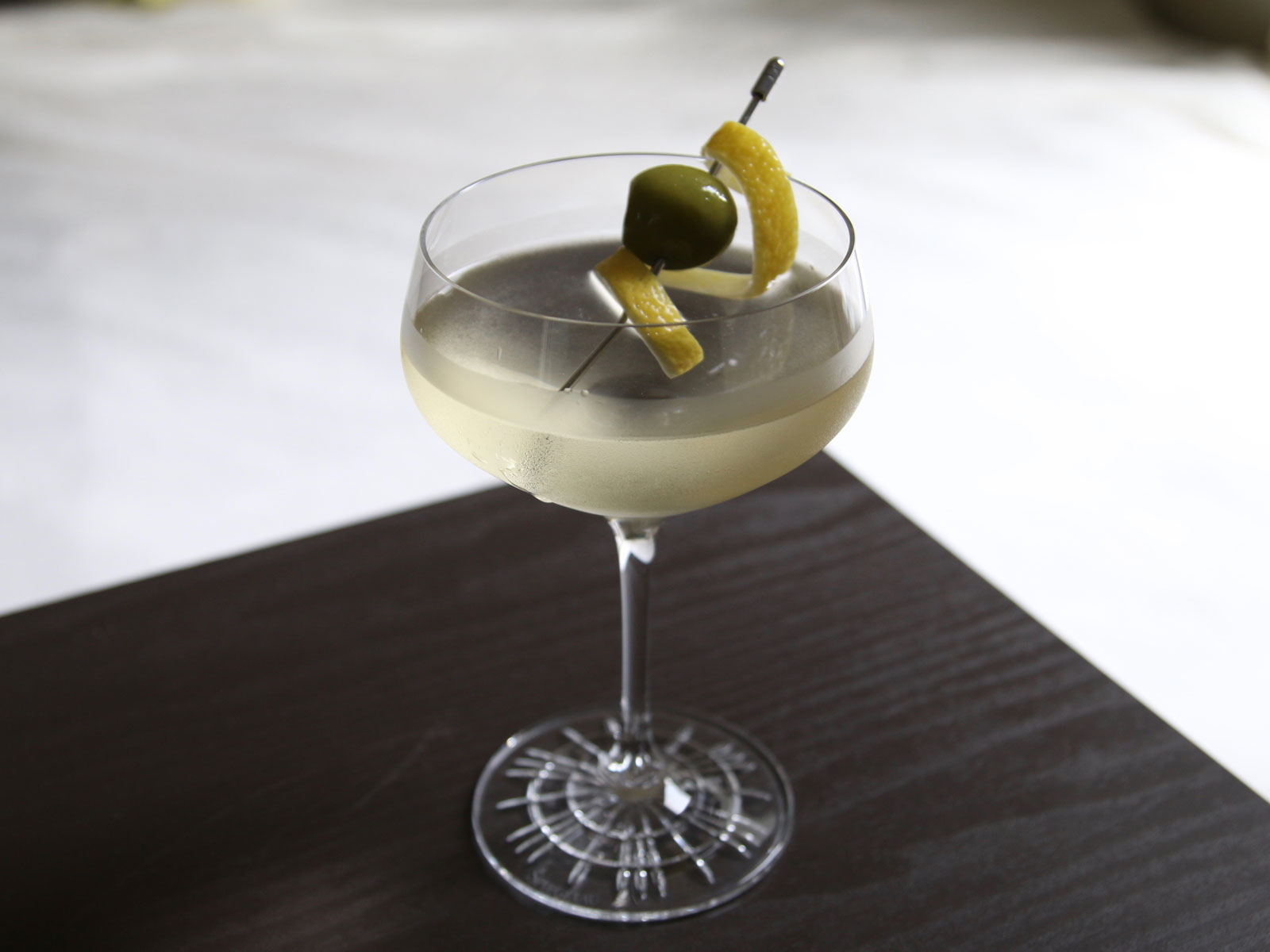 Green Chile Martini