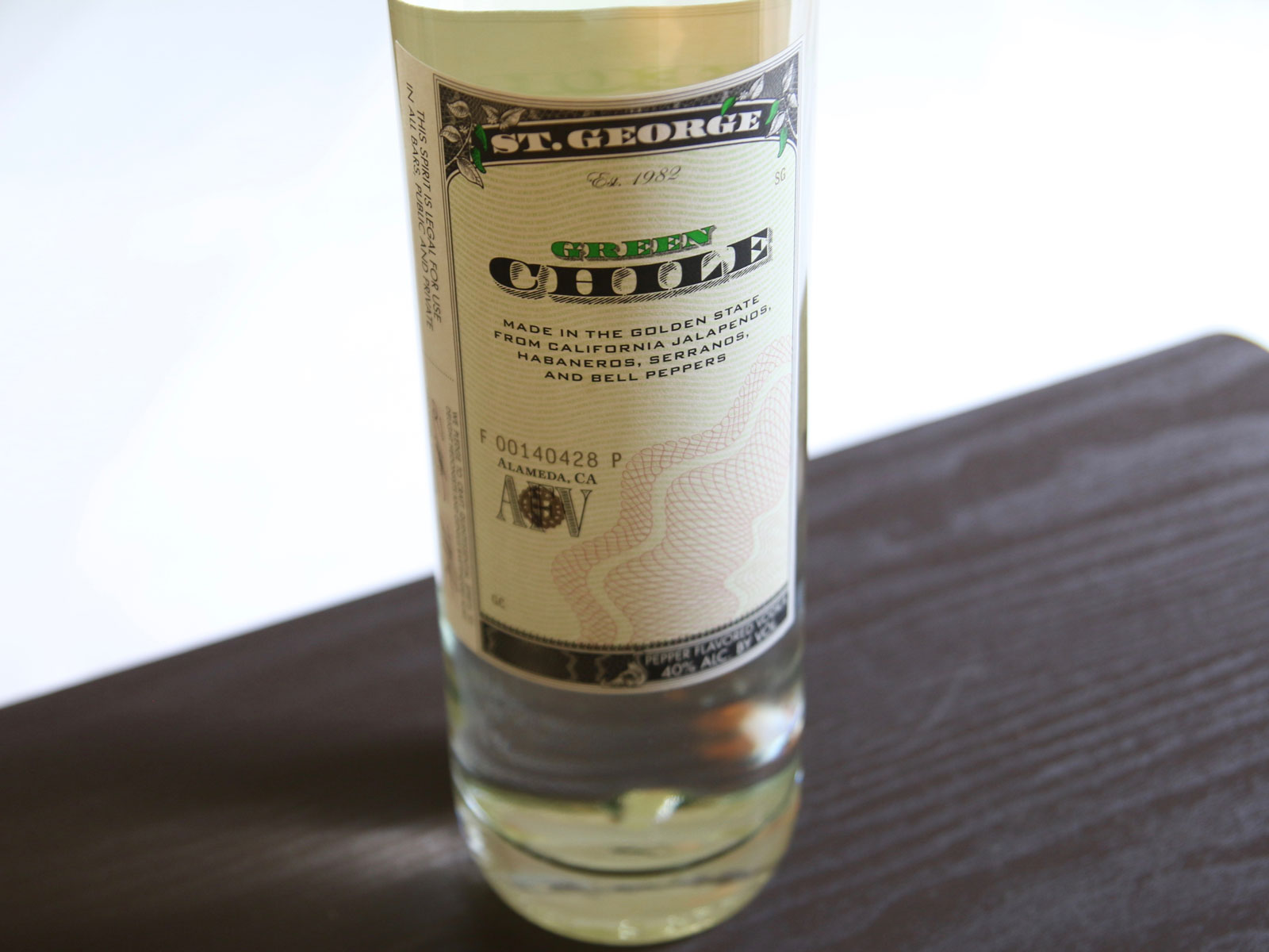 Fall in Love With Green Chile Vodka