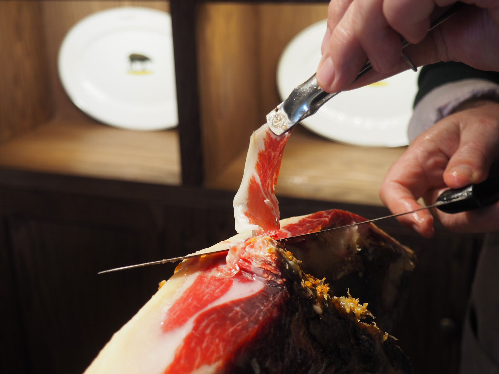 What It's Like to Be a Master Jamón Carver