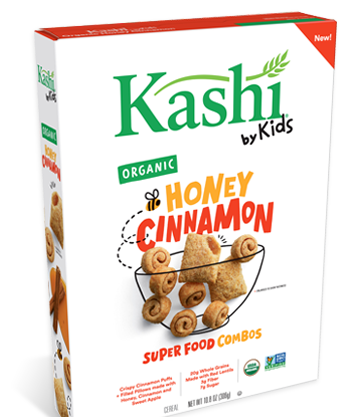 These New Kashi Cereals Come in Kid-Friendly Flavors Created By Kids