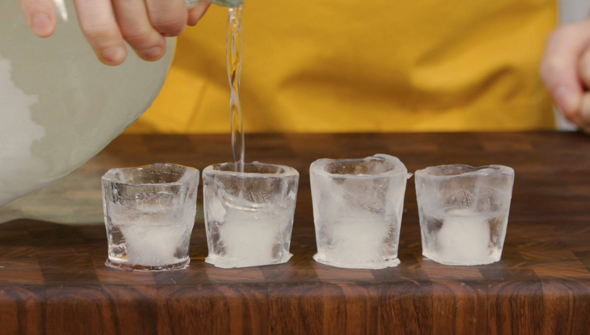 How to Make a Shot Glass out of Ice