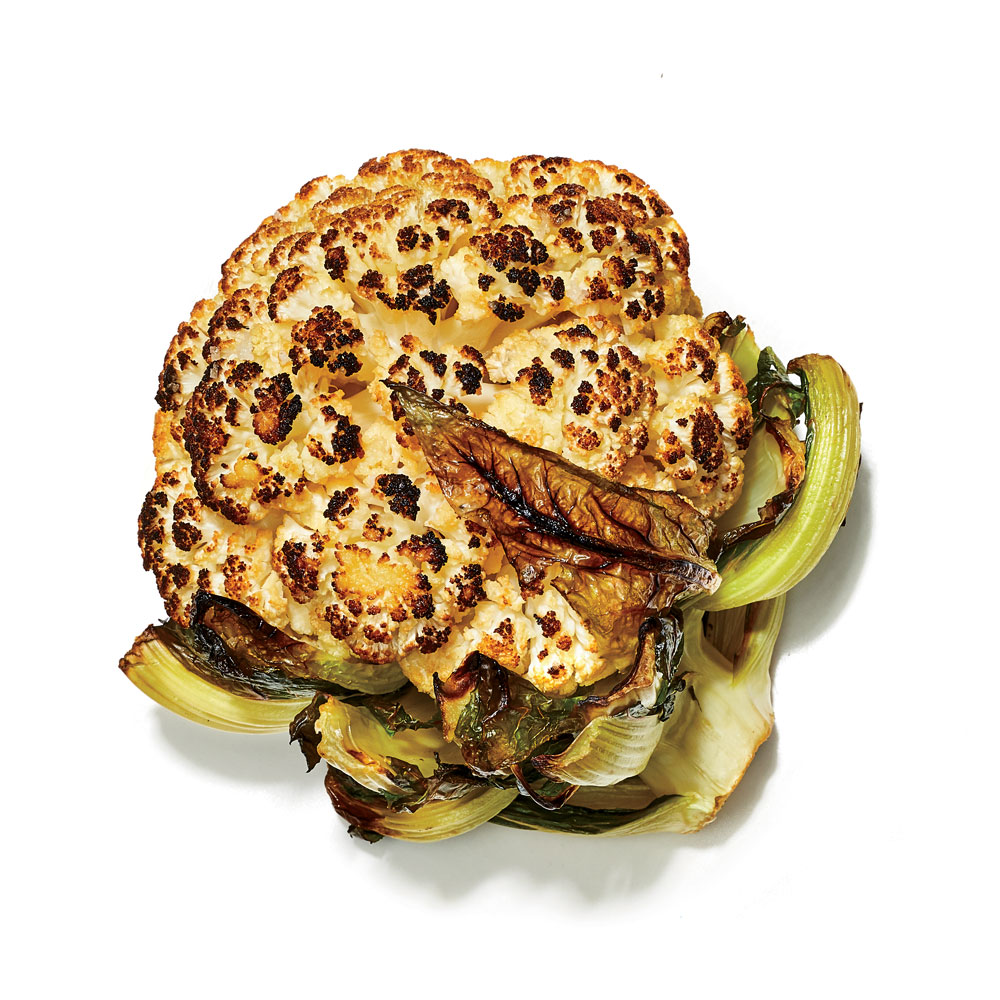Mizono's Whole Roasted Cauliflower