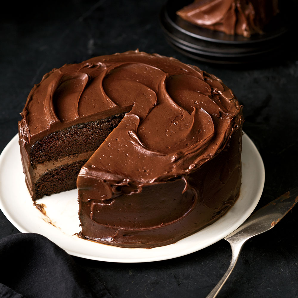 How To Make A Chocolate Cake Baking Mad Com Kitchen