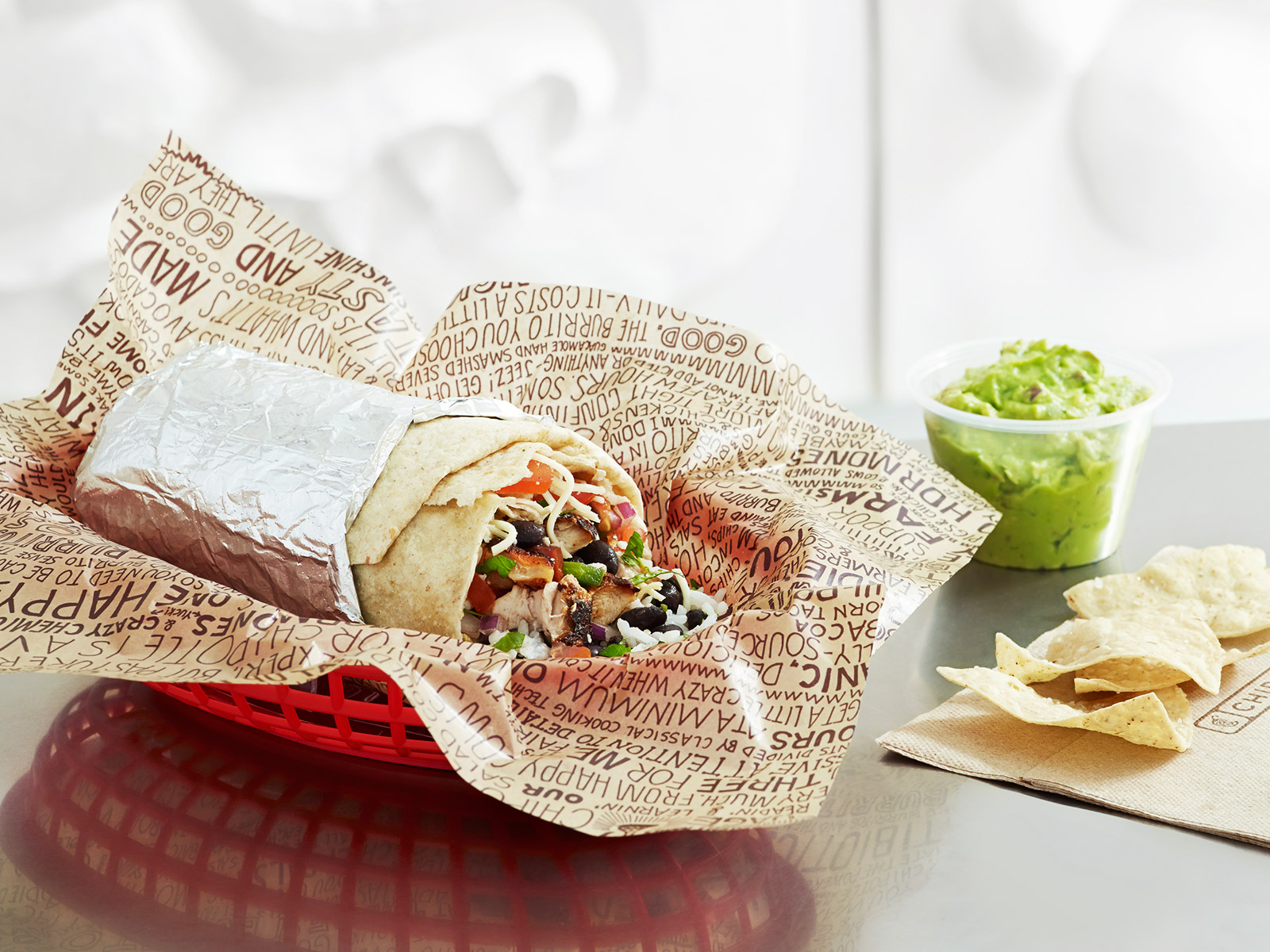Chipotle Offers Free Delivery for Two Weeks