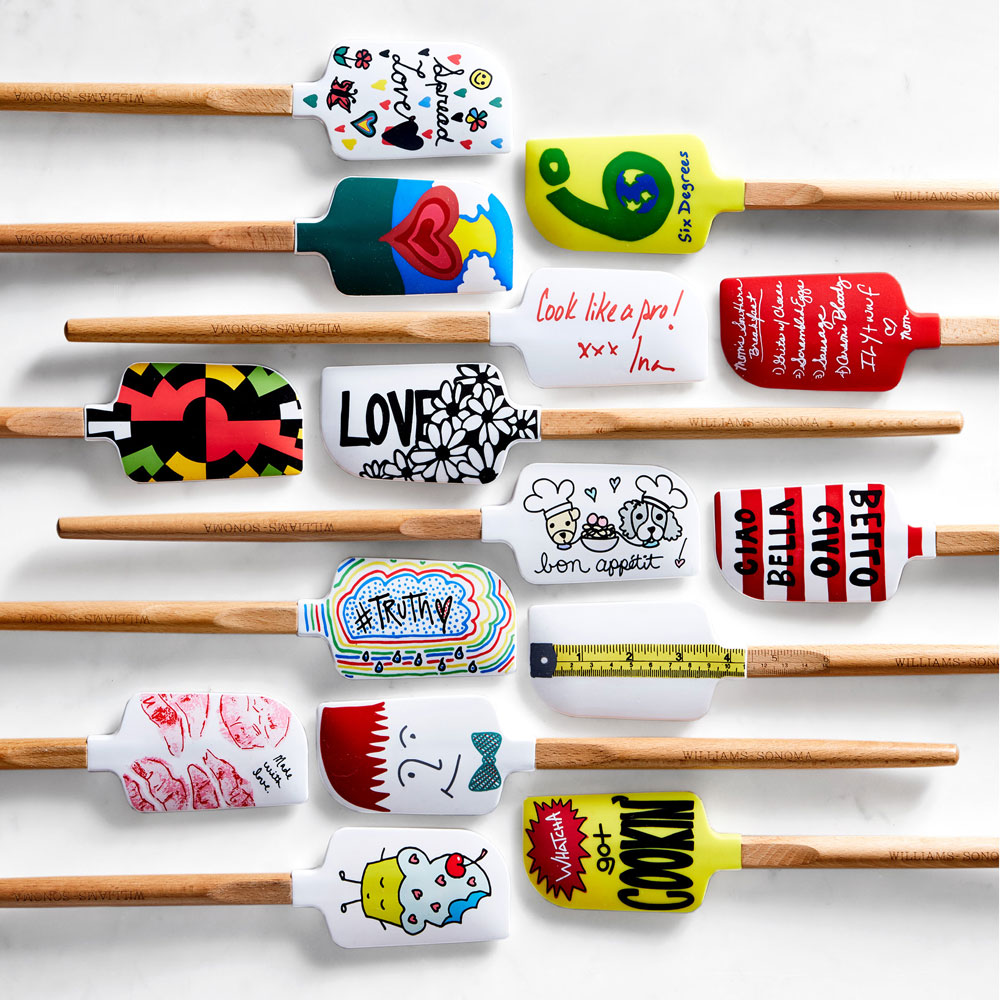 Ina Garten, Giada De Laurentiis, Scarlett Johansson, and Kevin Bacon Designed These Spatulas for Williams Sonoma